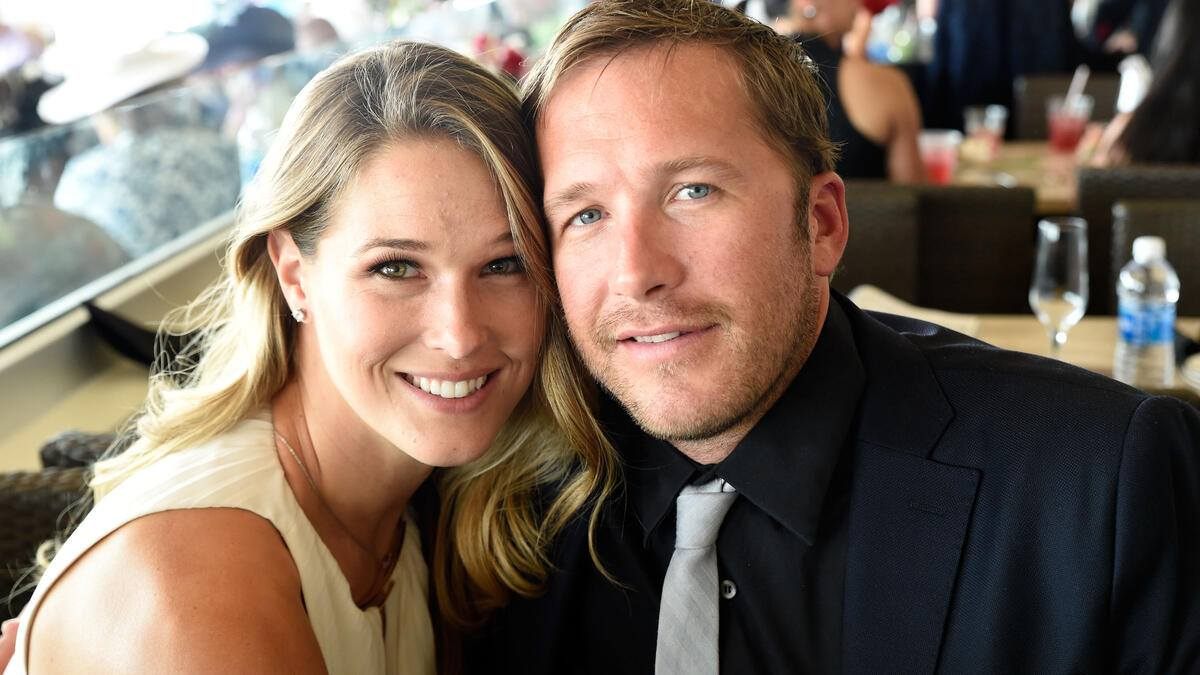 LOUISVILLE, KY - MAY 07:   Morgan Miller and Bode Miller attends The 142nd Kentucky Derby at Churchill Downs on May 7, 2016 in Louisville, Kentucky.  (Photo by Stephen J. Cohen/WireImage)