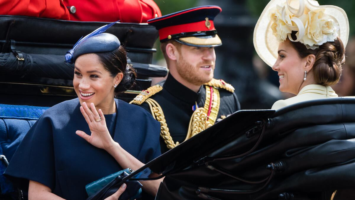 Herzogin Meghan am Trooping the Colours