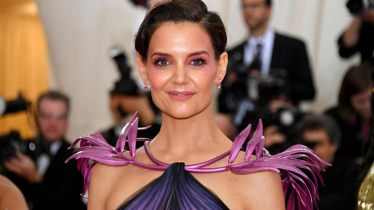 Katie Holmes an der Met Gala in New York