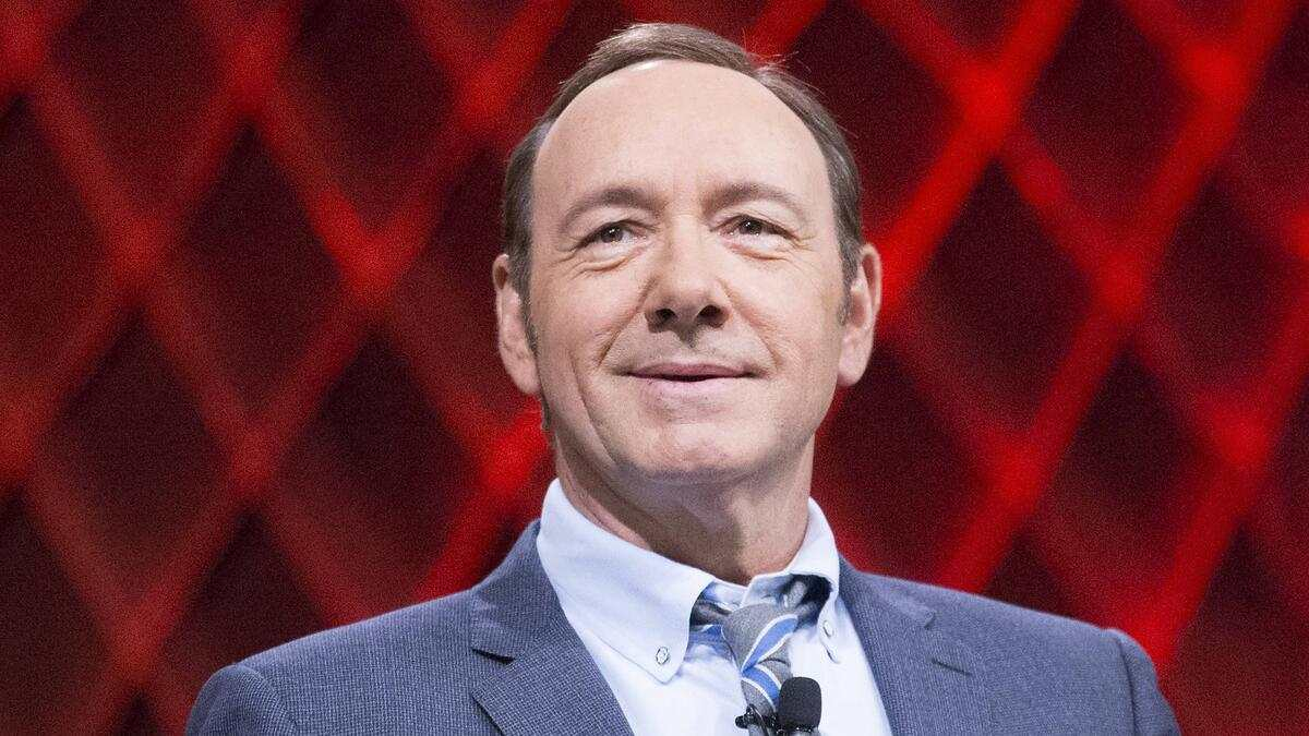 Kevin Spacey CELEBRITES : Kevin Spacey, GBTA Convention - Los Angeles - 28/07/2014 ChrisElise/PanoramicUSA PUBLICATIONxNOTxINxFRAxITAxBEL