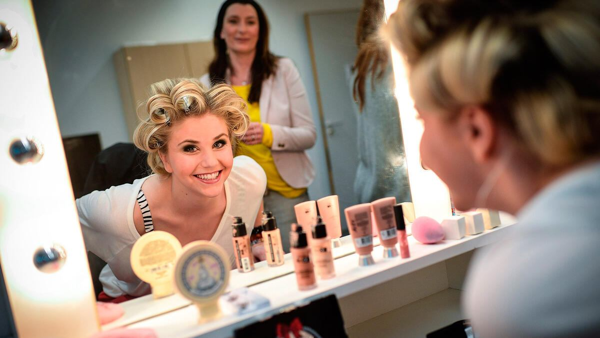 DSDS 2013 Beatrice Egli Hairstyling
