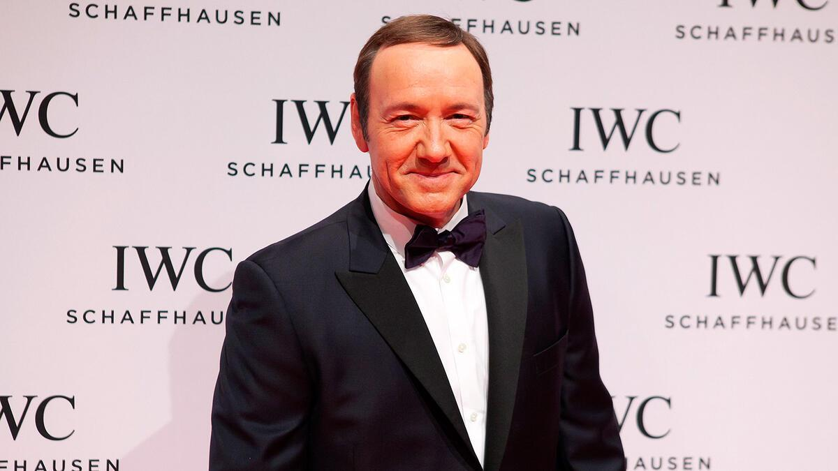 IWC Genf 2013: Kevin Spacey