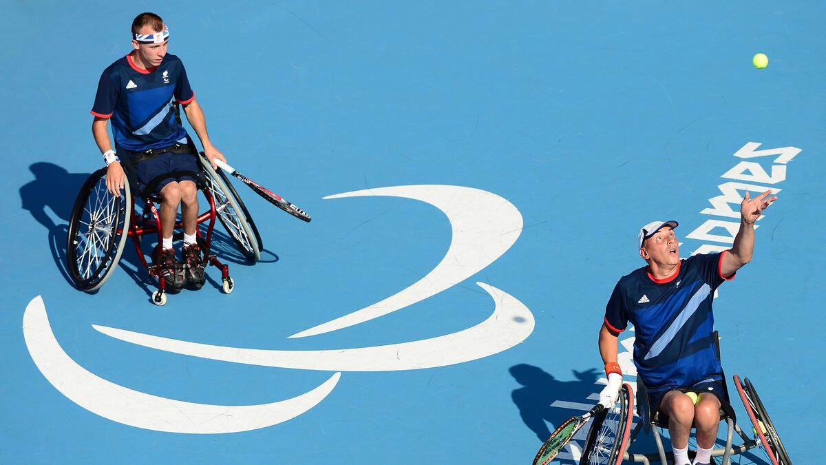 Paralympics 2012: Andy Lapthorne and Peter Norfolk of Great Britain