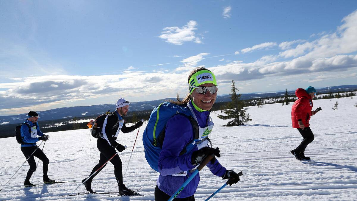 Pippa Middleton Sport Langlauf Birkebeinerrennet 2016 in Norwegen