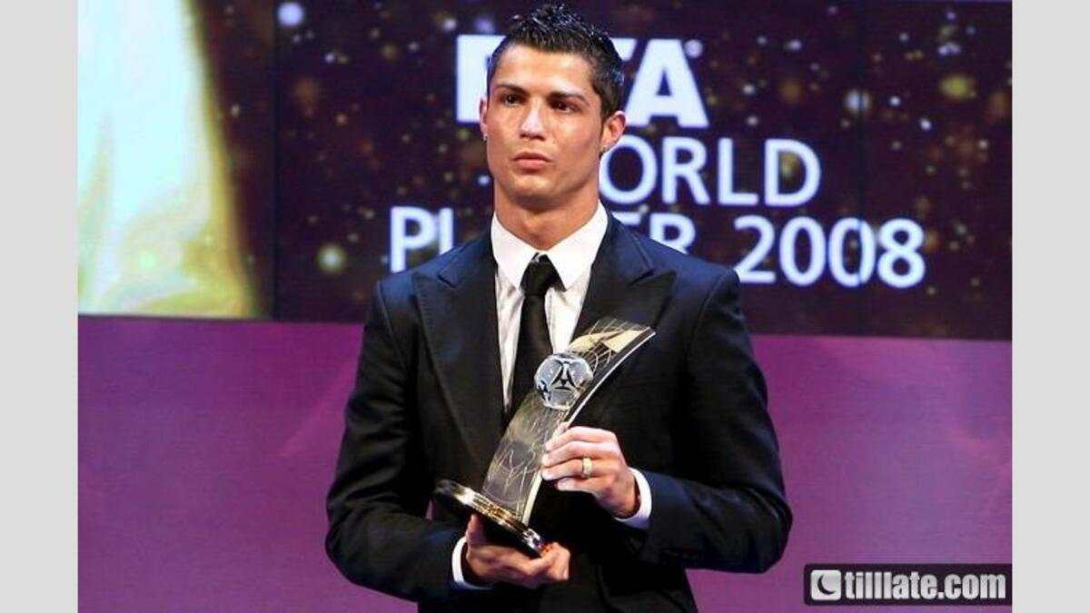 Cristiano Ronaldo - FIFA World Player 2008