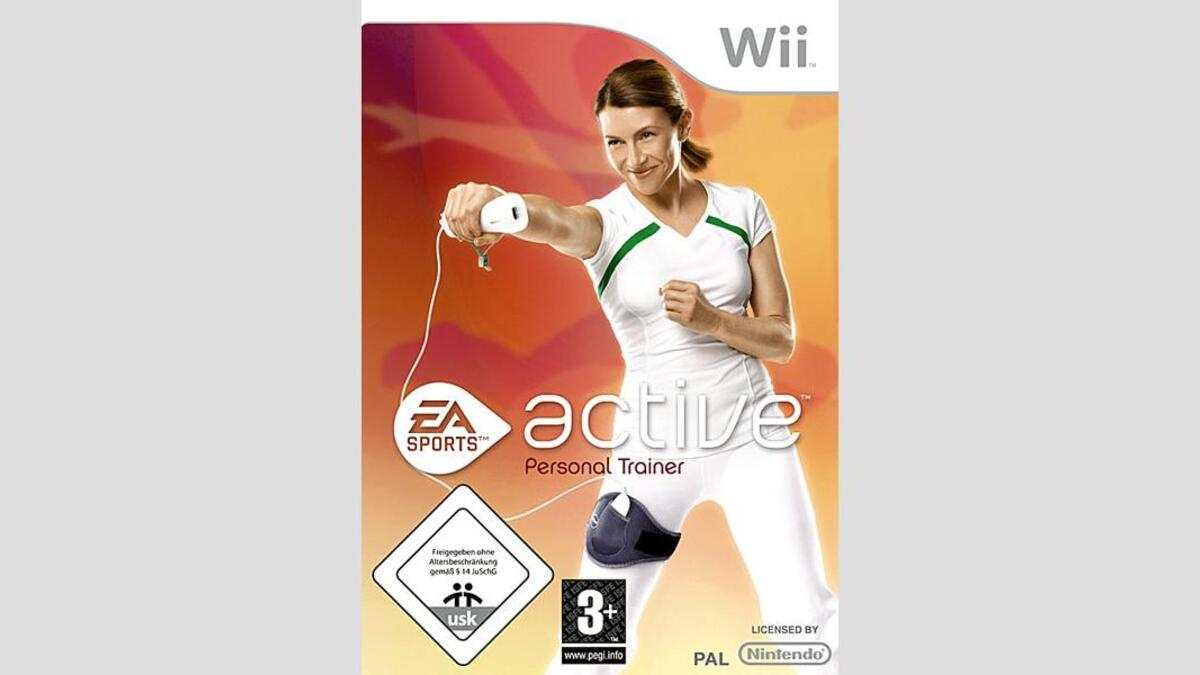Macht Sportmuffel fit: Wii Game EA Sports Active. CHF 99.90.