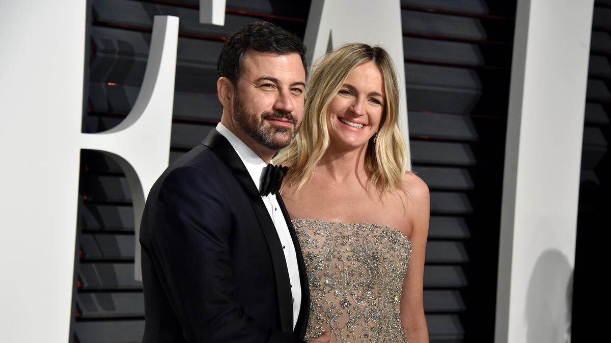 Jimmy Kimmel Wife Youtube Oscars Net Worth Baby Father