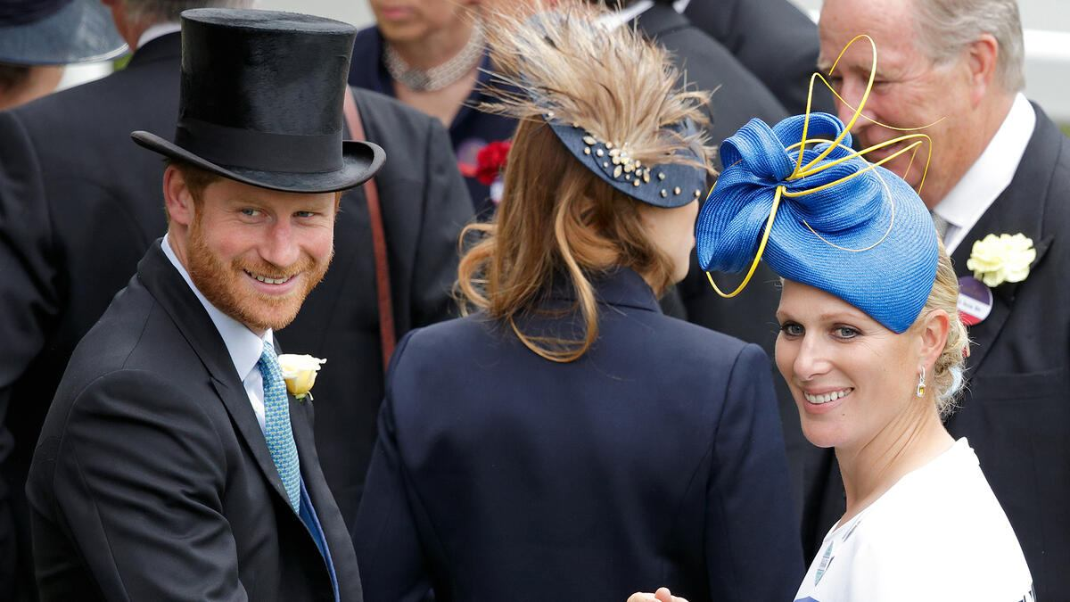 Prinz Harry Royal Acot Day 1 Zara Tindall