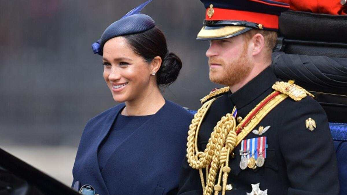 Trooping the Colour Meghan 2019