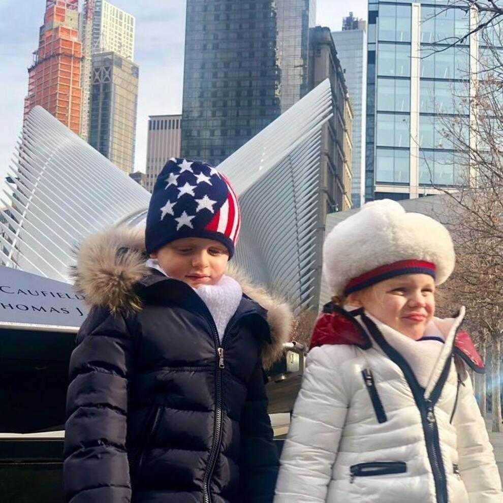 Gabriella und Jacques in New York