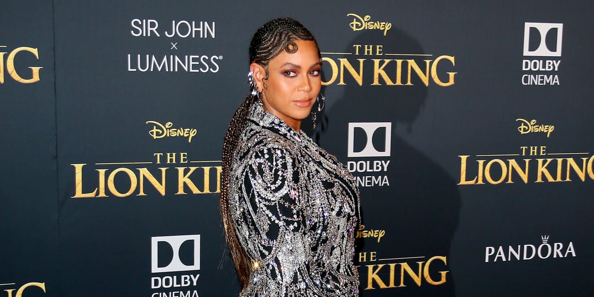 "HOLLYWOOD, CALIFORNIA - JULY 09: Beyoncé attends the premiere of Disney's ""The Lion King"" at Dolby Theatre on July 09, 2019 in Hollywood, California. (Photo by Jean Baptiste Lacroix/WireImage)"