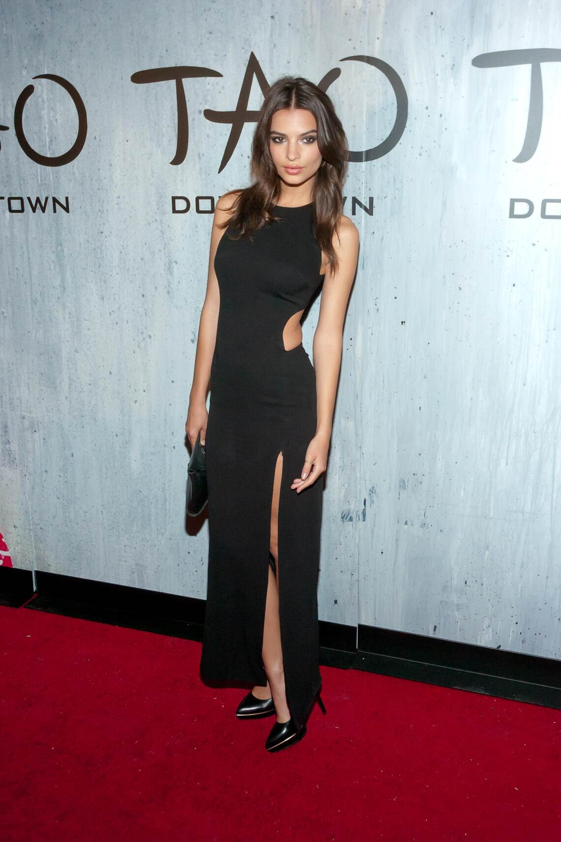 NEW YORK, NY - SEPTEMBER 28:  Emily Ratajkowski attends the grand opening of TAO Downtown on September 28, 2013 in New York City.  (Photo by Steven A Henry/WireImage)