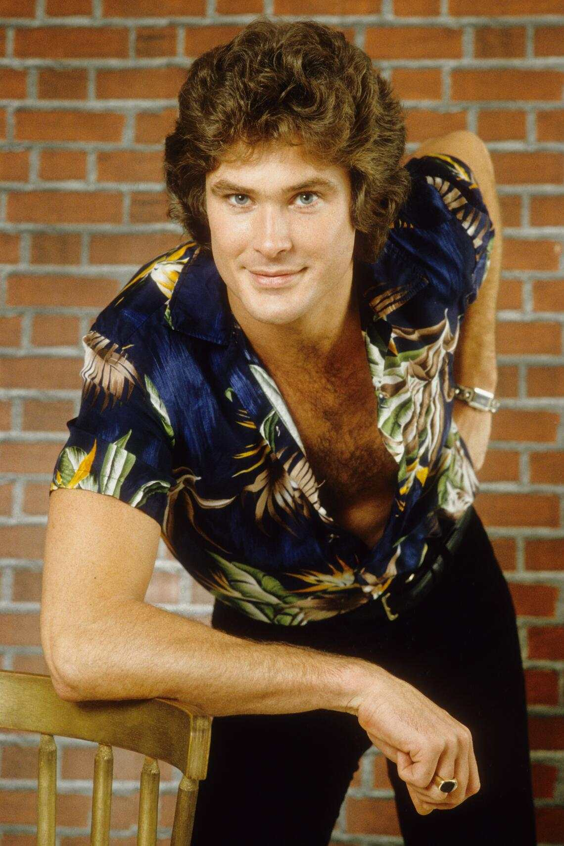 LOS ANGELES - JANUARY 11:  Actor and singer David Hasselhoff poses for a portrait on January 11, 1980 in Los Angeles, California. (Photo by Michael Ochs Archives/Getty Images)