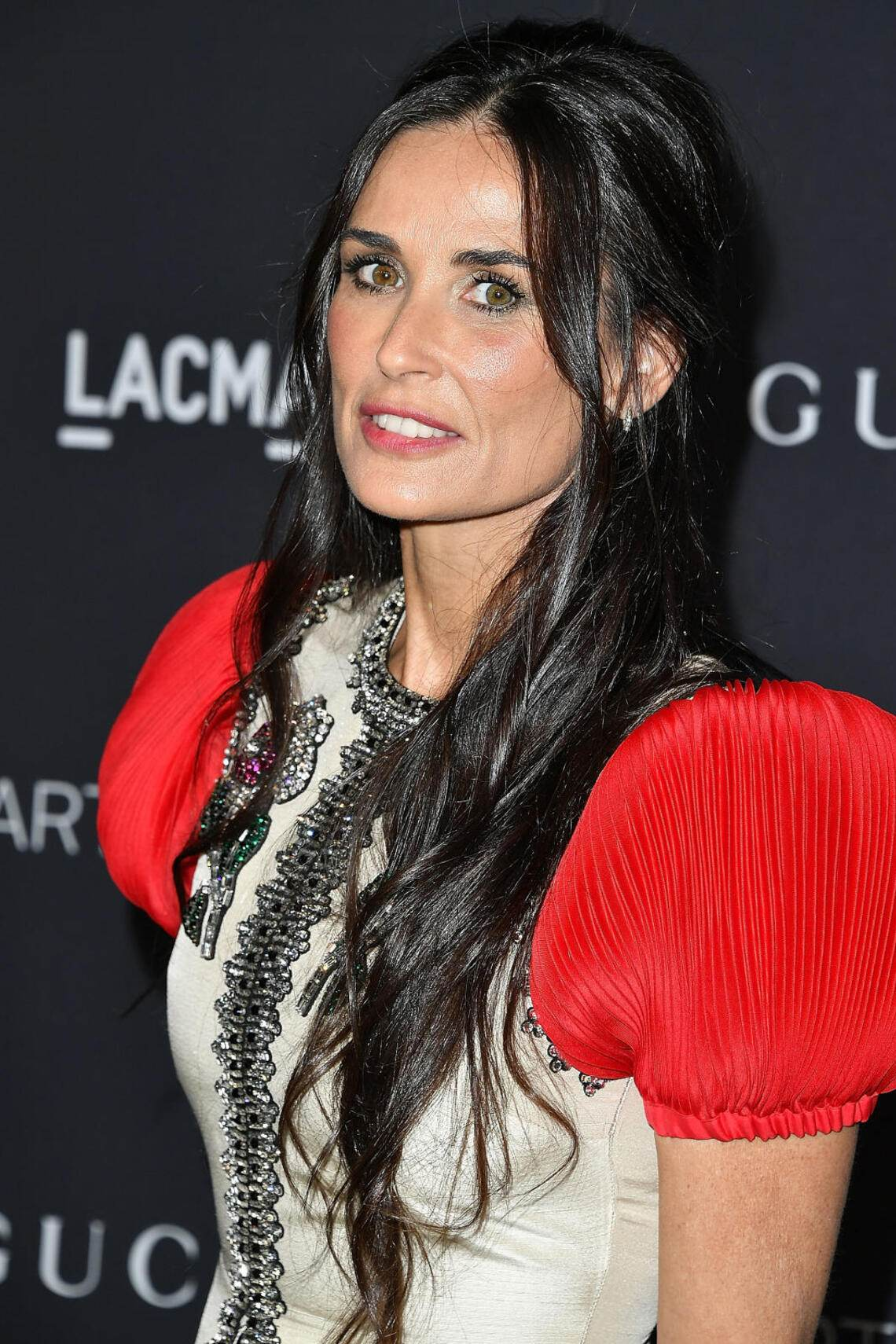 LOS ANGELES, CA - OCTOBER 29: Demi Moore arrives at the 2016 LACMA Art + Film Gala Honoring Robert Irwin And Kathryn Bigelow Presented By Gucci at LACMA on October 29, 2016 in Los Angeles, California. (Photo by Steve Granitz/WireImage)