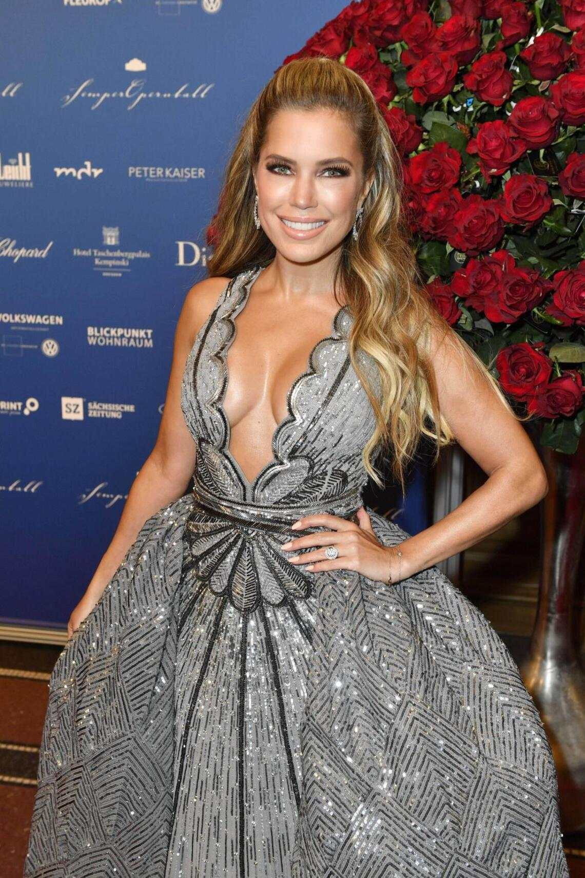 Sylvie Meis am Semperopernball in Dresden 2019