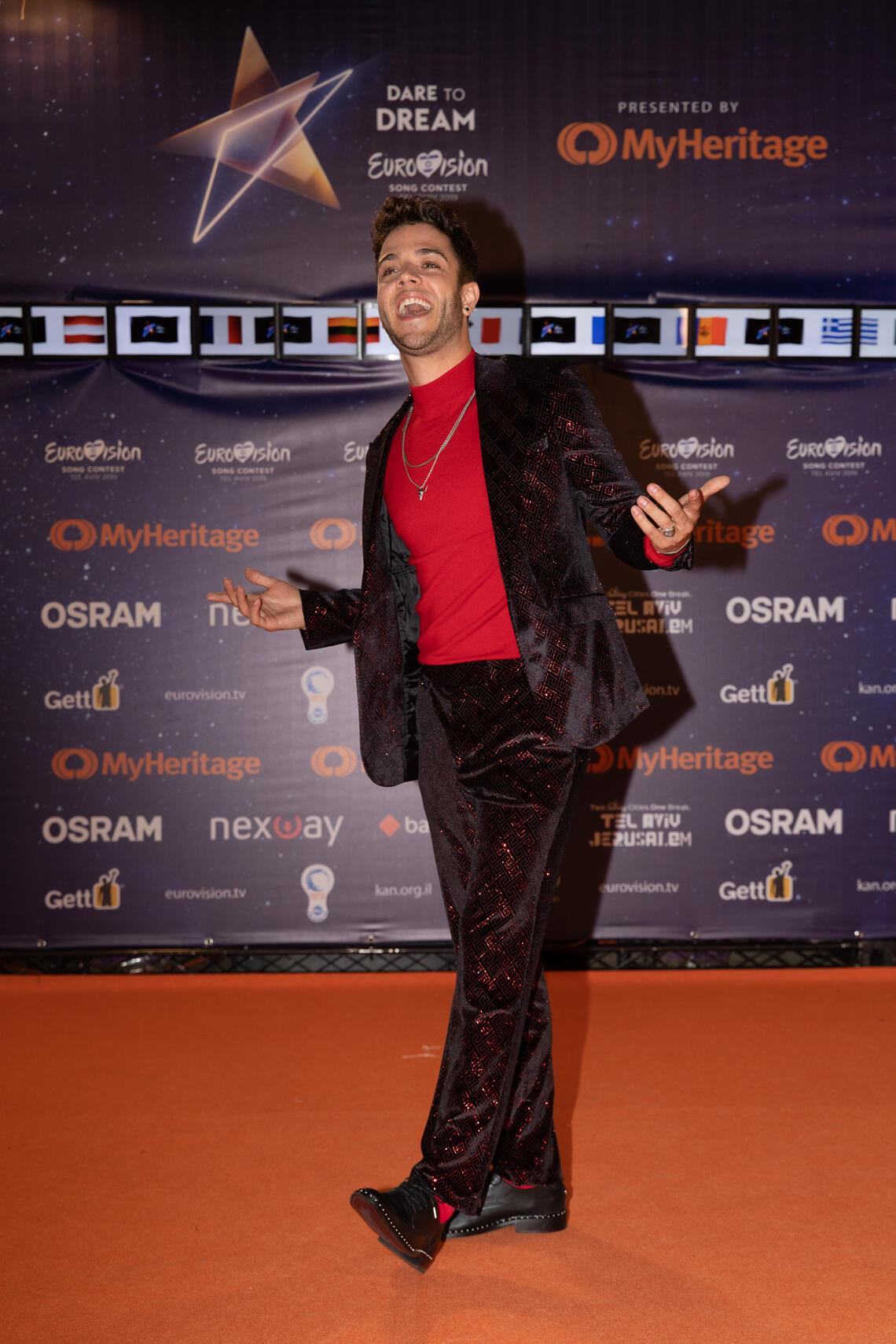 Luca Hanni of Switzerland Eurovision Song Contest