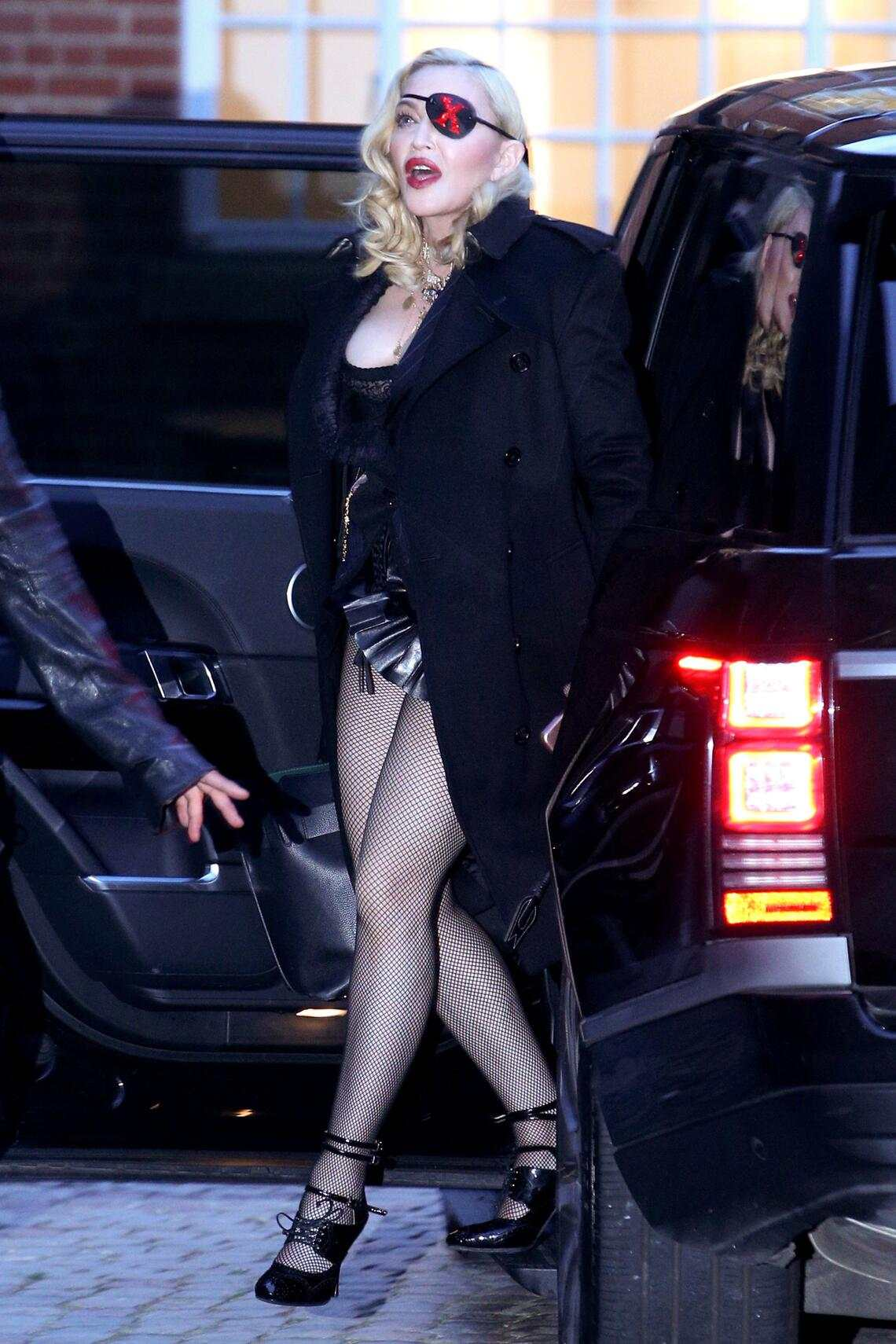 Mandatory Credit: Photo by Beretta/Sims/REX (10217892l)MadonnaMadonna out and about, London, UK - 24 Apr 2019