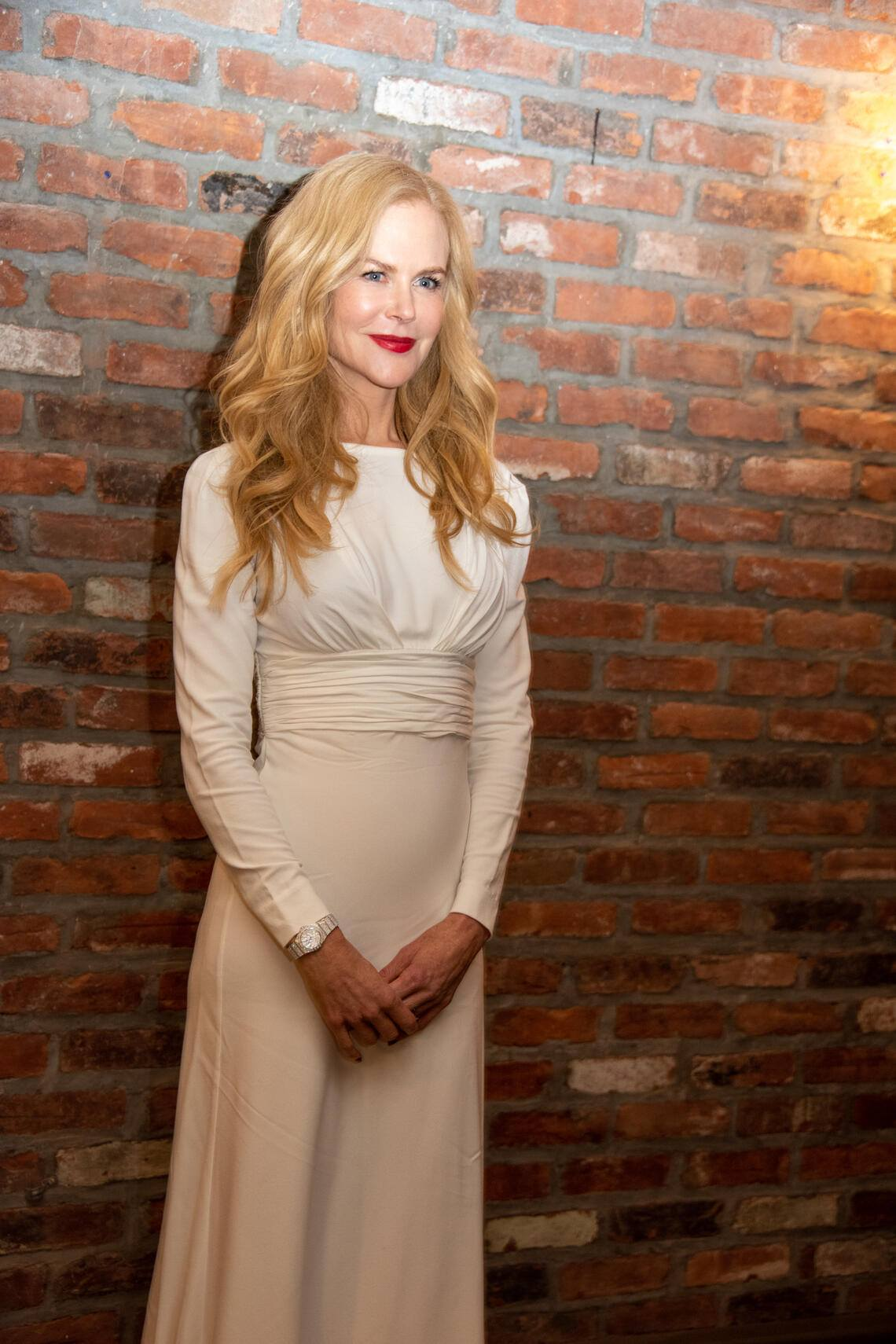"""NEW YORK, NEW YORK - APRIL 27: Nicole Kidman at the """"Big Little Lies"""" - Season 2 Press Conference at the Beekman Hotel on April 27, 2019 in New York City. (Photo by Vera Anderson/WireImage)"""
