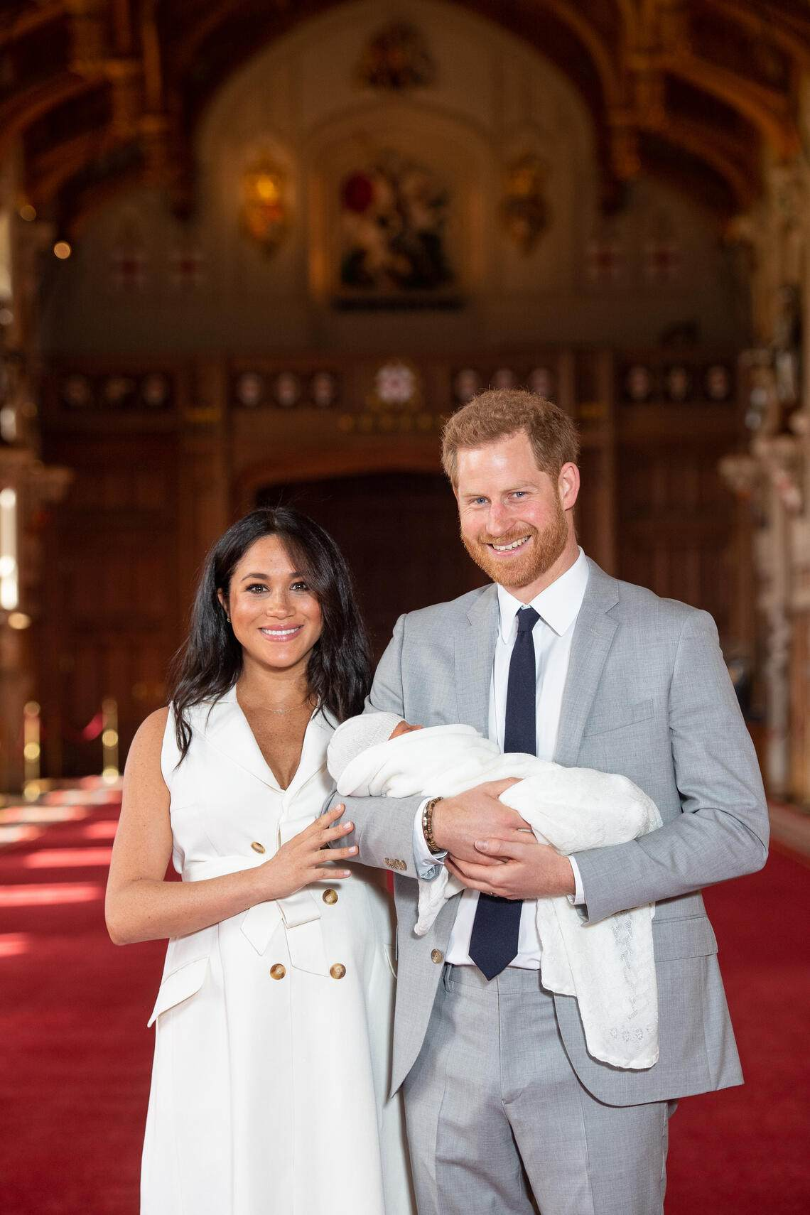 Prinz Harry, Herzogin Meghan und Baby Sussex