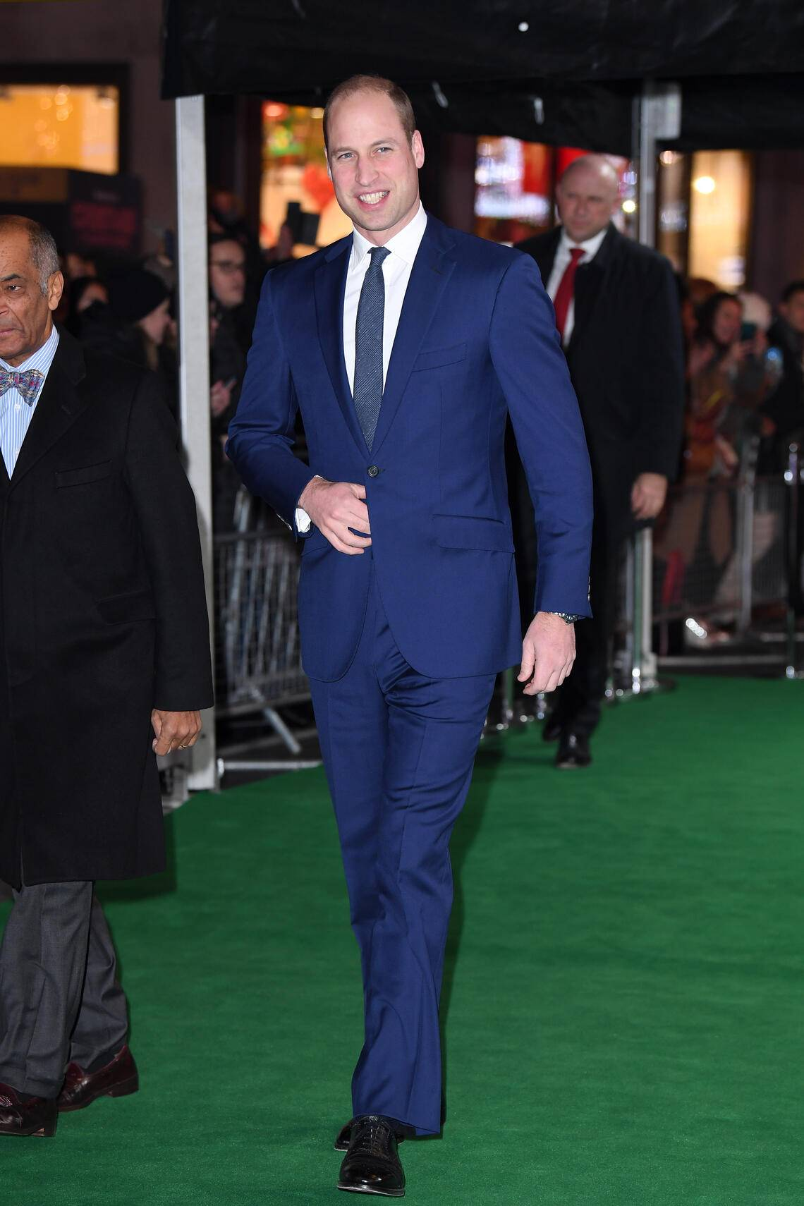 LONDON, ENGLAND - NOVEMBER 21: Prince William, Duke of Cambridge attends the Tusk Conservation Awards at The Empire Cinema on November 21, 2019 in London, England. (Photo by Karwai Tang/WireImage)