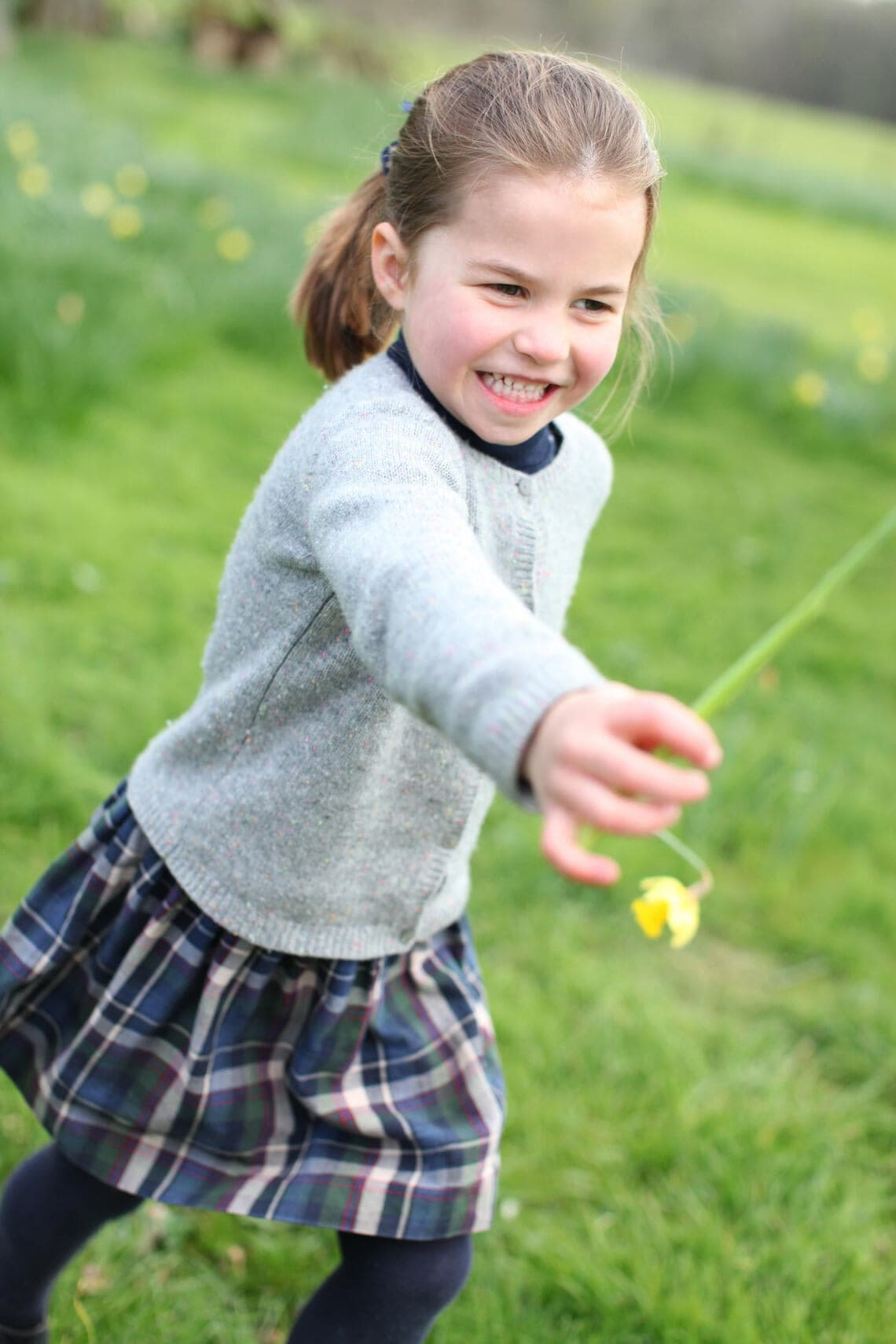 NORFOLK, ENGLAND - APRIL 2019: Undated handout photo of Princess Charlotte taken by her mother, Catherine, Duchess of Cambridge, at their home in Norfolk in April to mark her fourth birthday on Thursday May 2nd, 2019. (Photo by the Duchess of Cambridge via Getty Images)Copyright: Duke and Duchess of Cambridge. NO COMMERCIAL USE. NO MERCHANDISING, ADVERTISING, SOUVENIRS, MEMORABILIA or COLOURABLY SIMILAR. NOT FOR USE AFTER 31 DECEMBER, 2019, WITHOUT PRIOR PERMISSION FROM KENSINGTON PALACE.