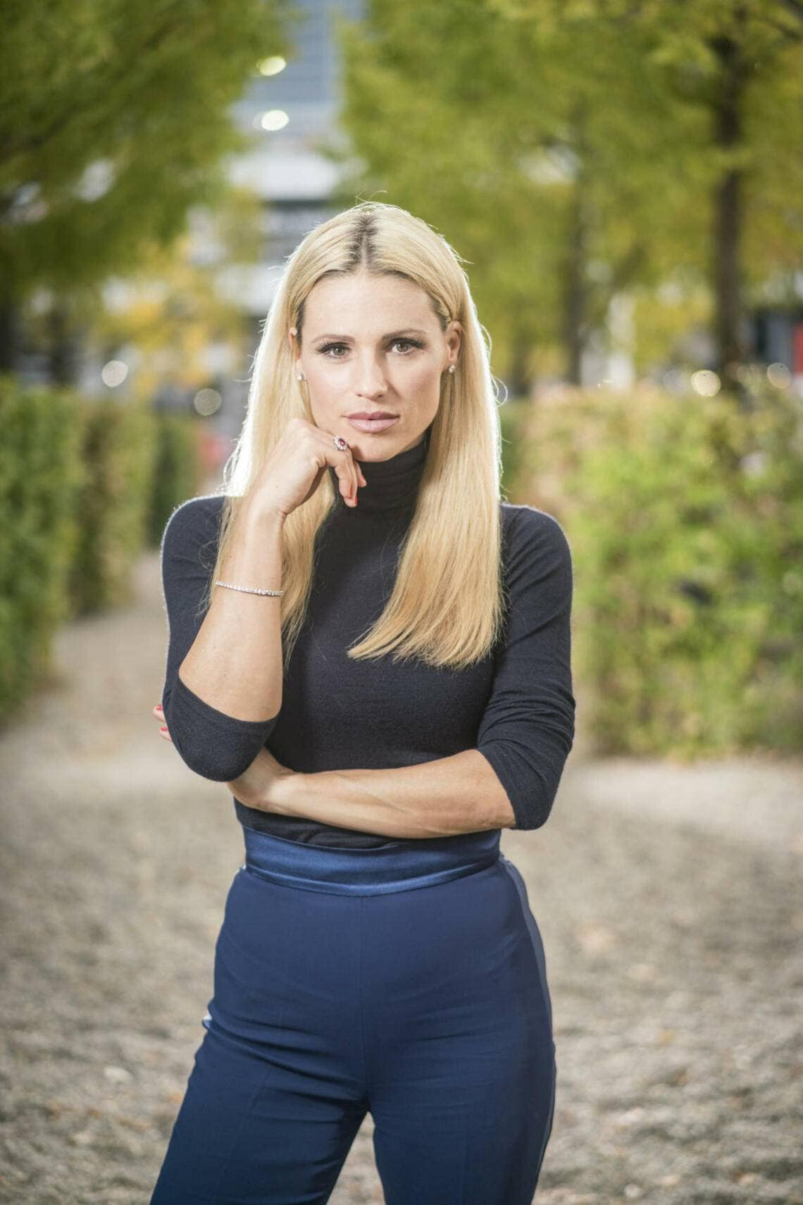 Michelle Hunziker Interview Buch