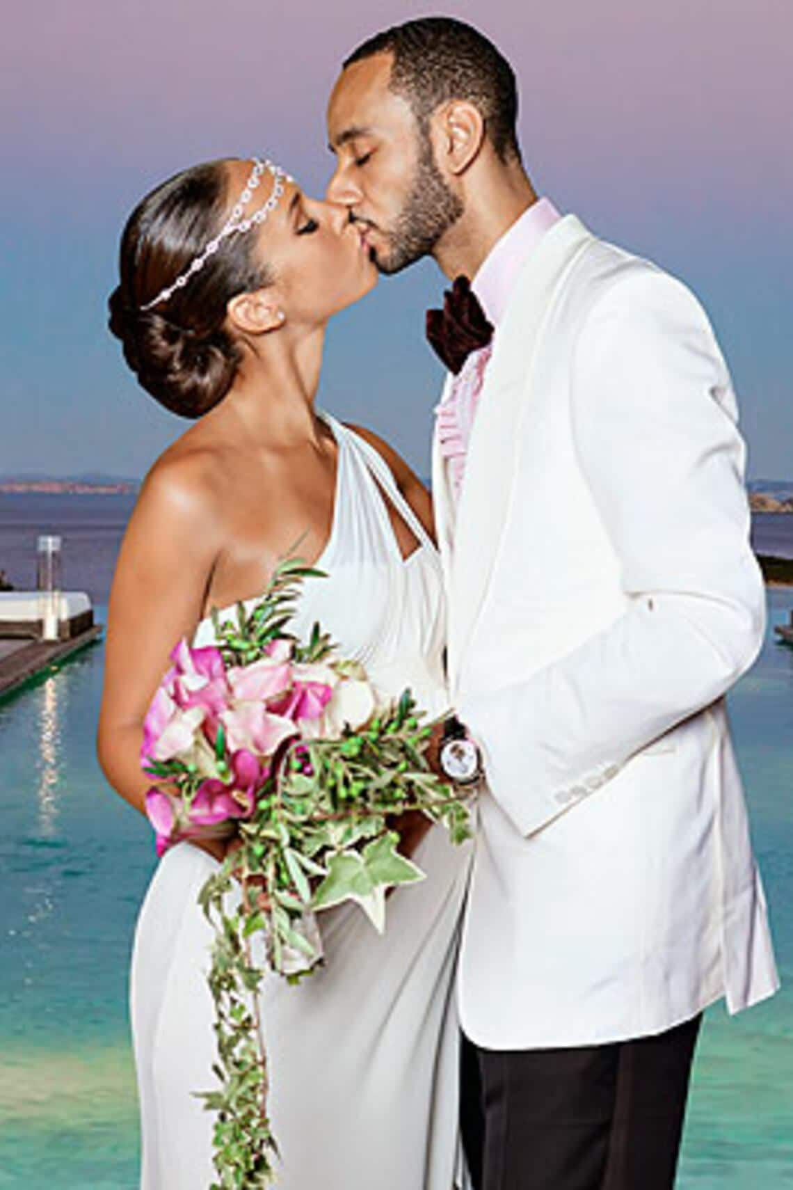 2.8. Hochzeitsfoto: Alicia Keys heiratet Swizz Beatz