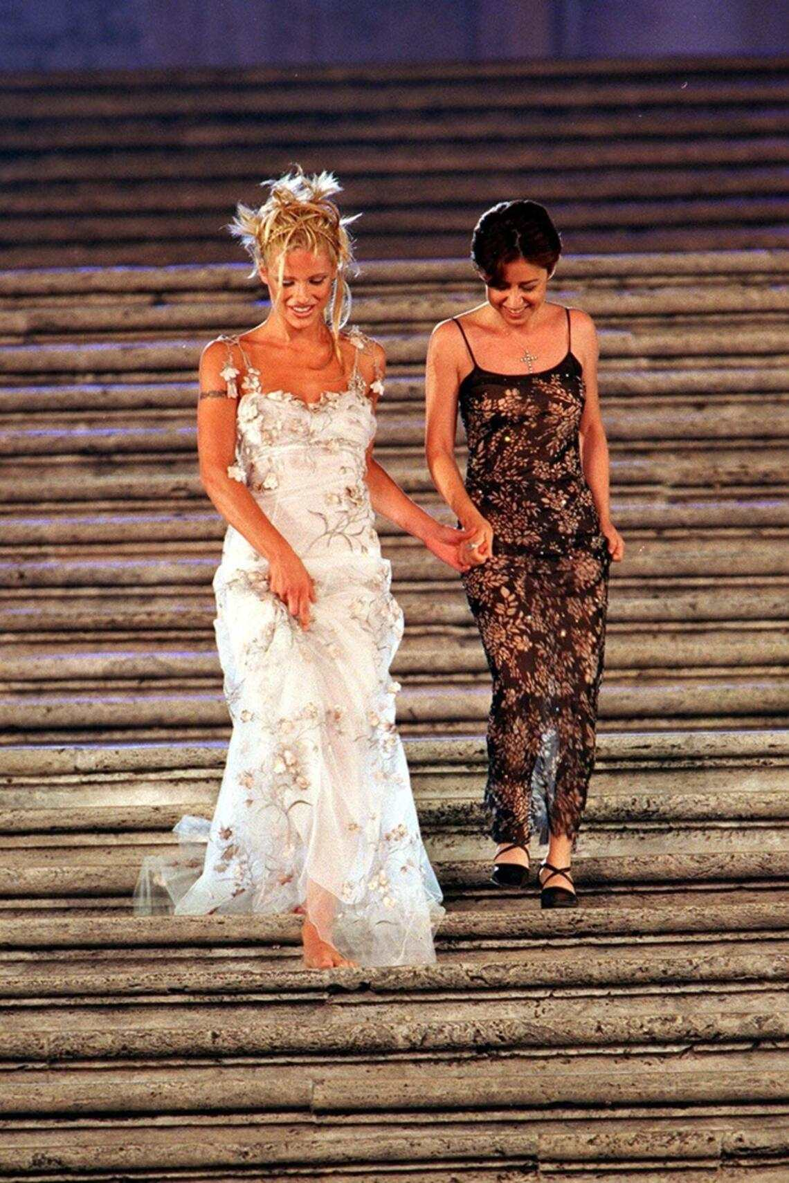 1998 Look-Book Michelle Hunziker Fashion-Show Rom