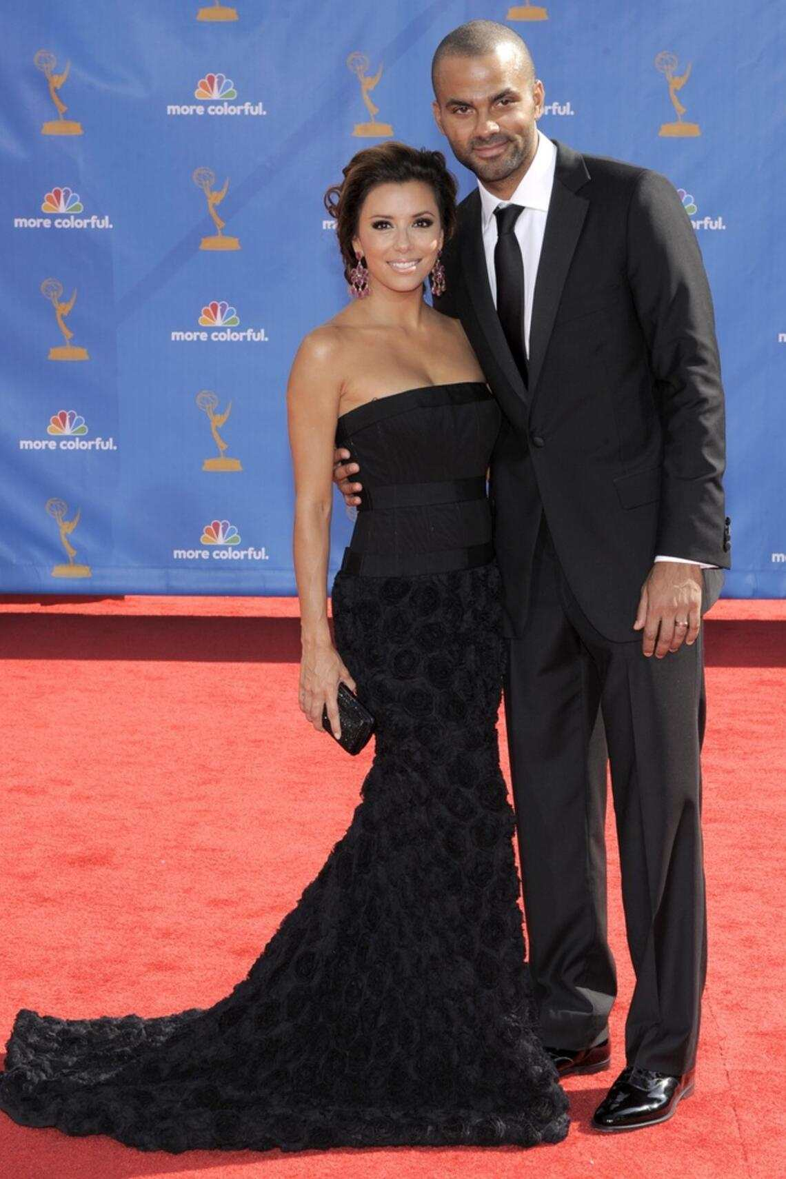 Emmy Awards 2010 Eva Longoria Tony Parker