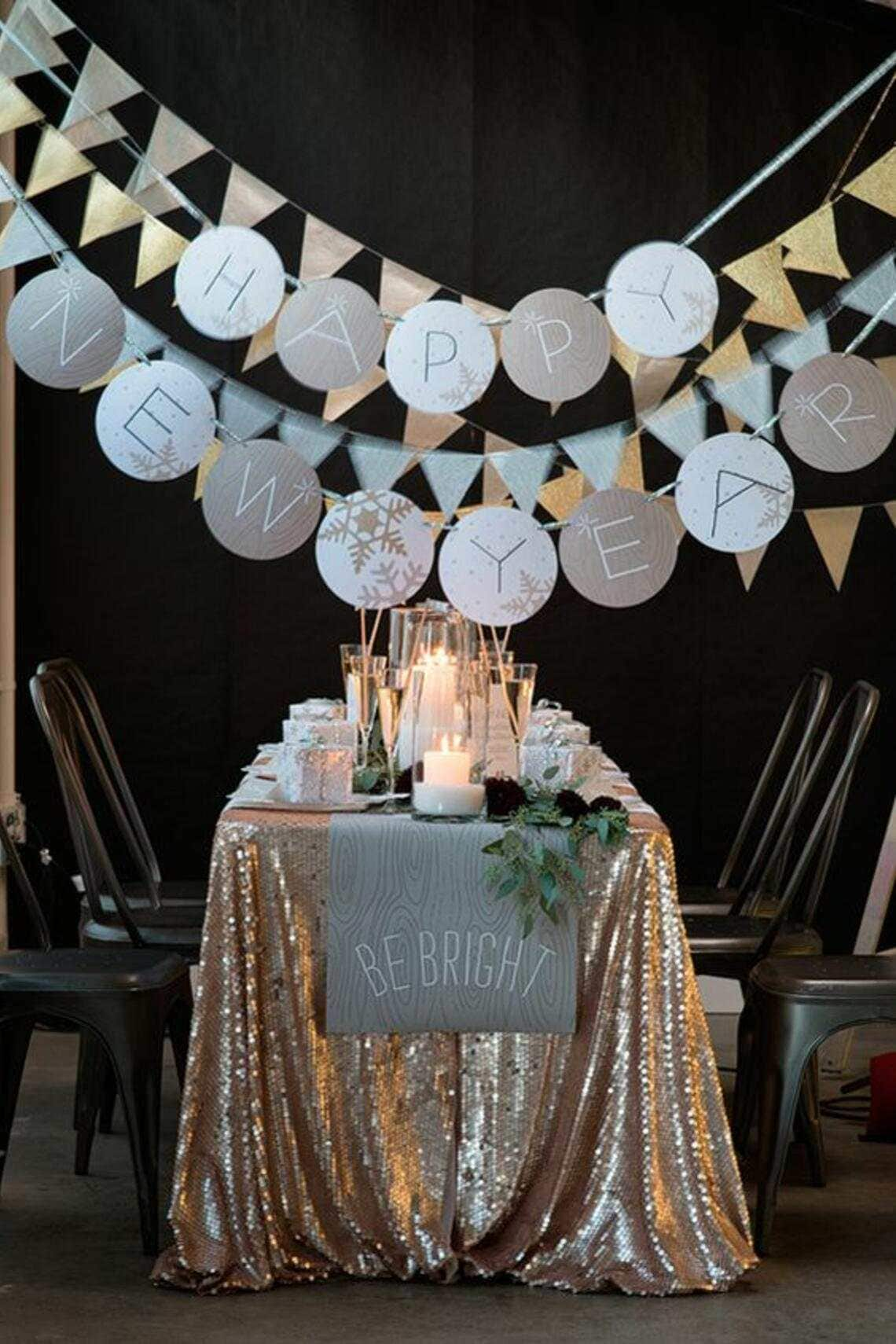 Wohninspiration Party Silvester