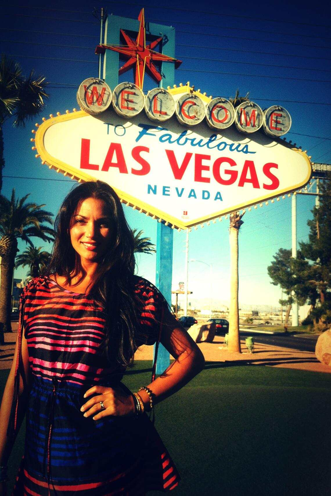 Bianca Loetscher in Las Vegas Poker