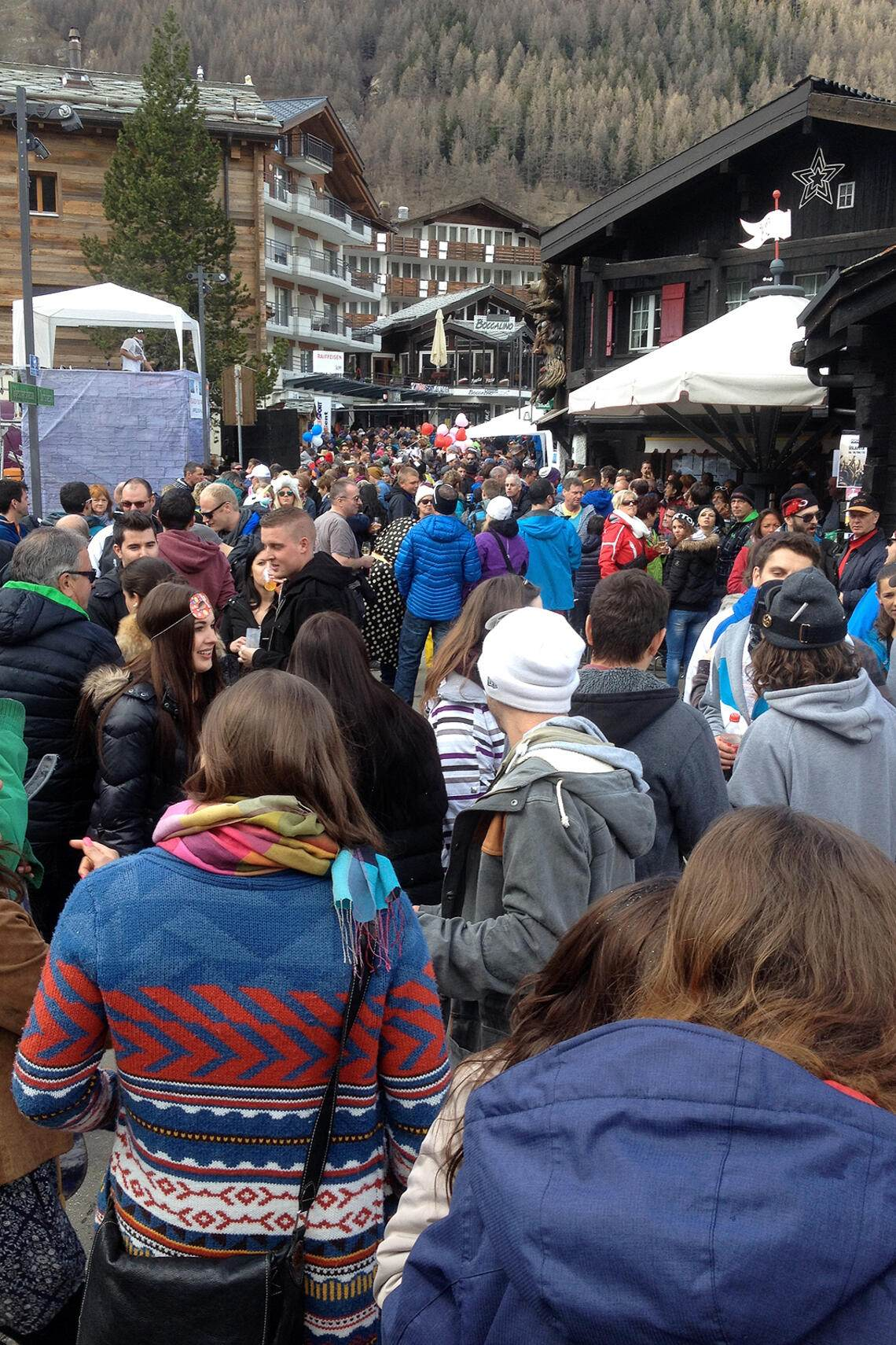 Saas Fee Saisonende 2015 Partys, Fotos
