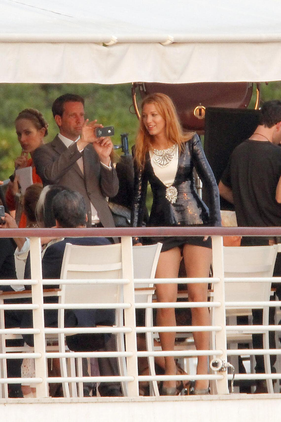 Chanel Party Cannes Blake Lively
