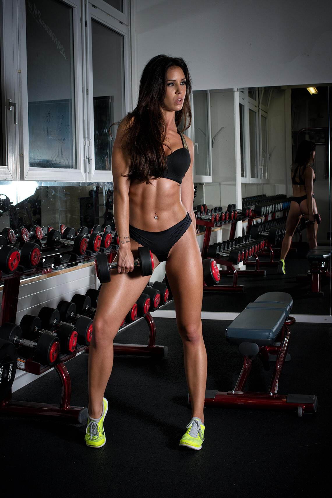 Anja Zeidler im Muscles and Fitness
