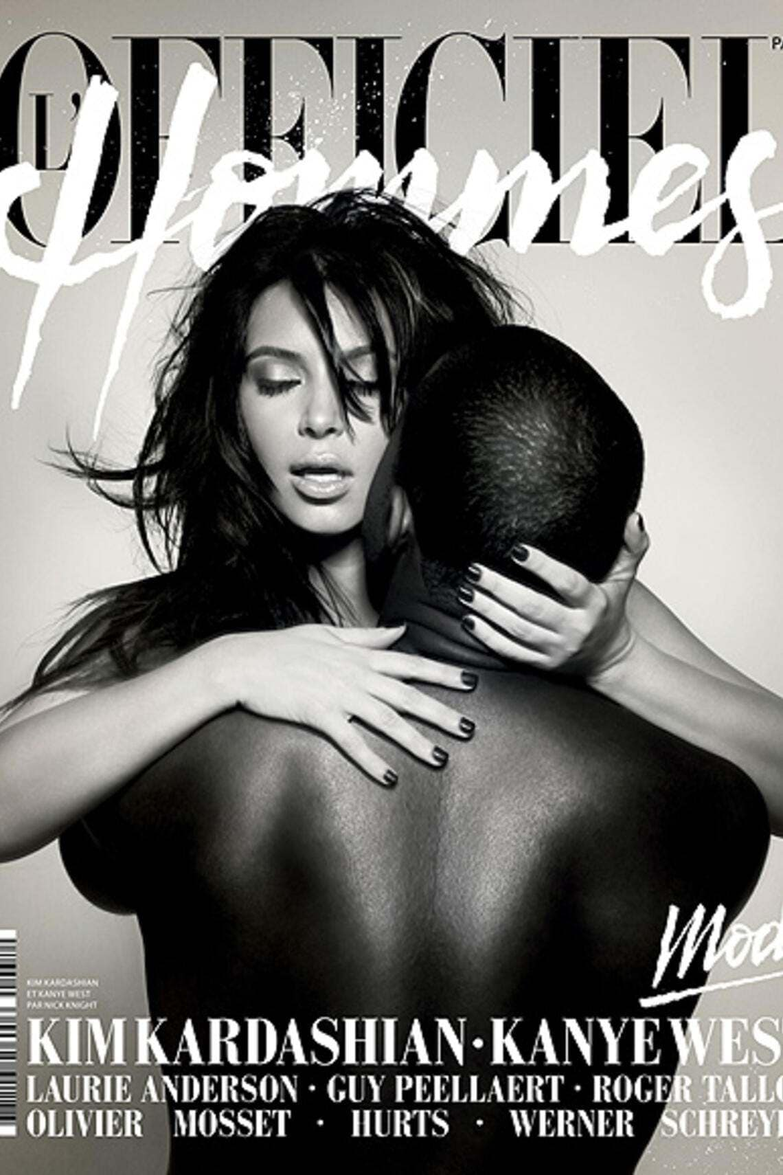 Kim Kardashian und Kanye West Officiel Cover