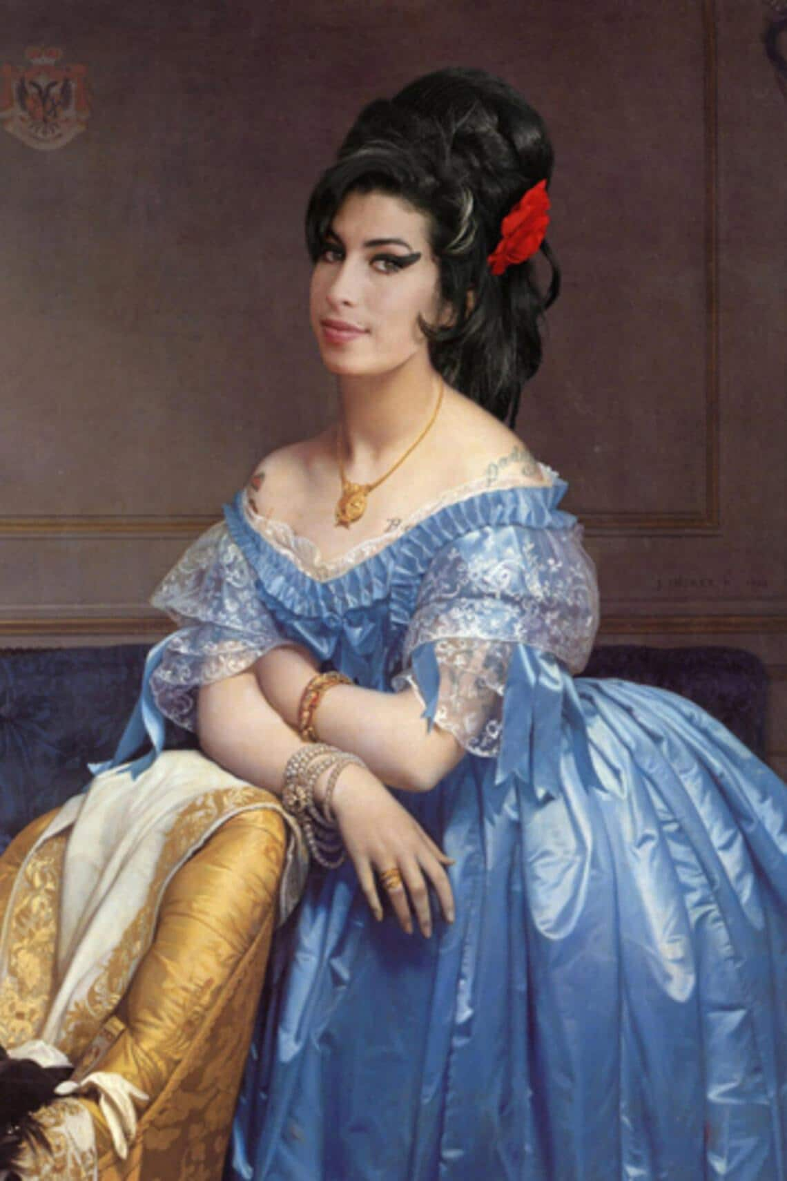 Worth1000.com Renaissance Amy Winehouse