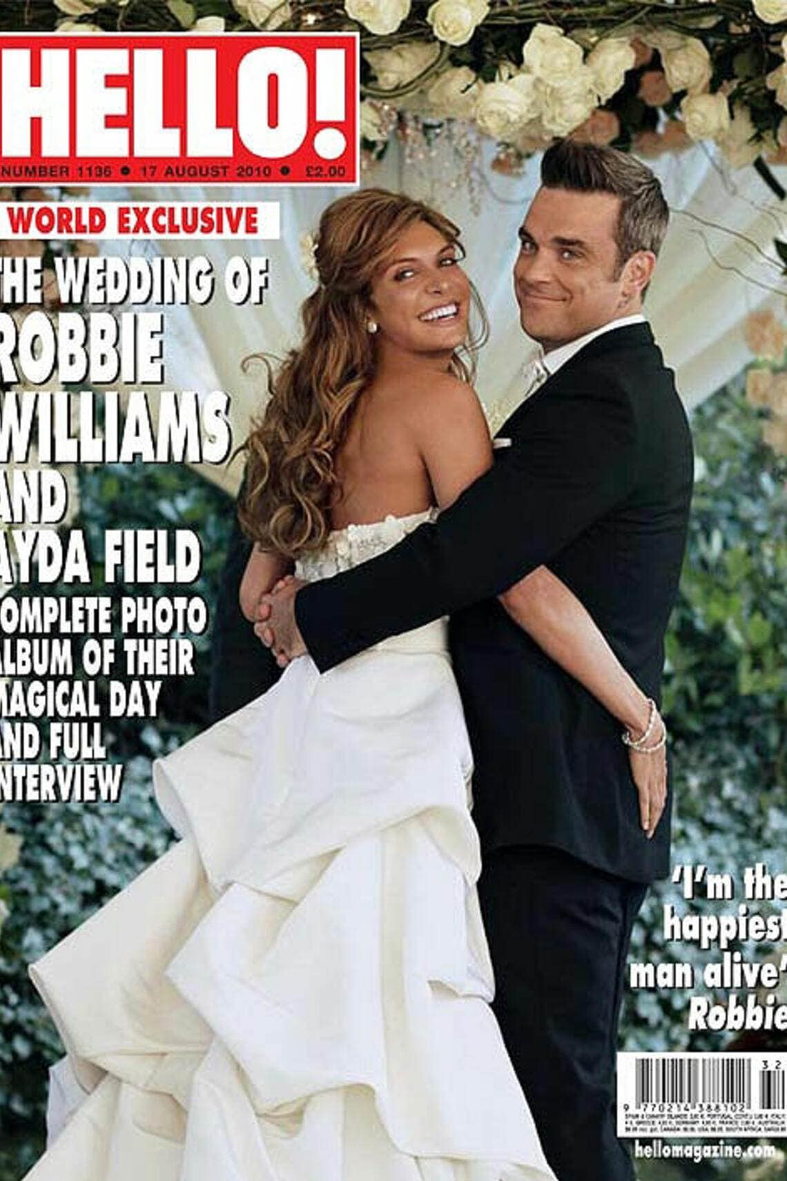 Robbie Ayda Williams Hochzeit Hollywood