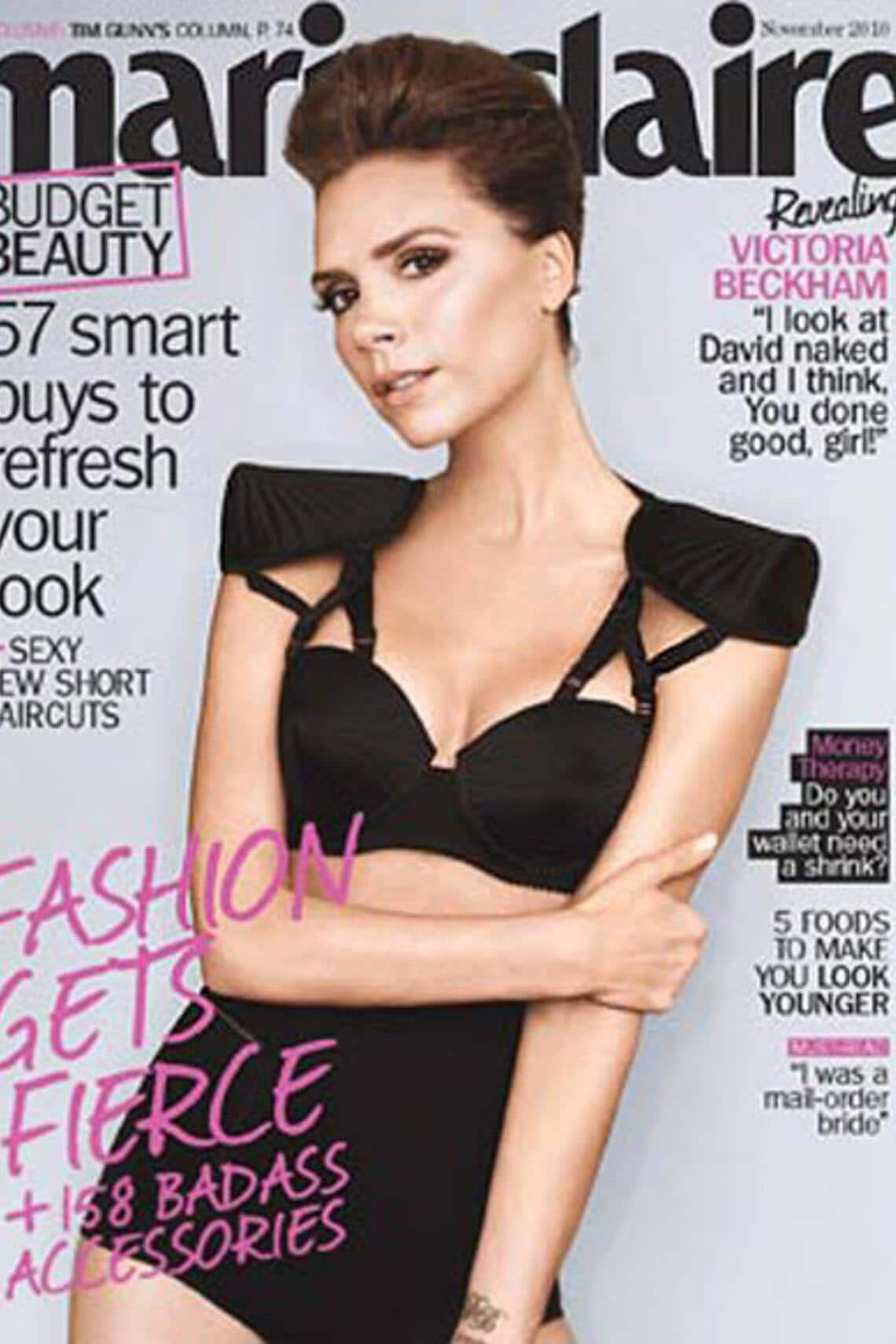 Victoria Beckham Cover Marie Claire 2010