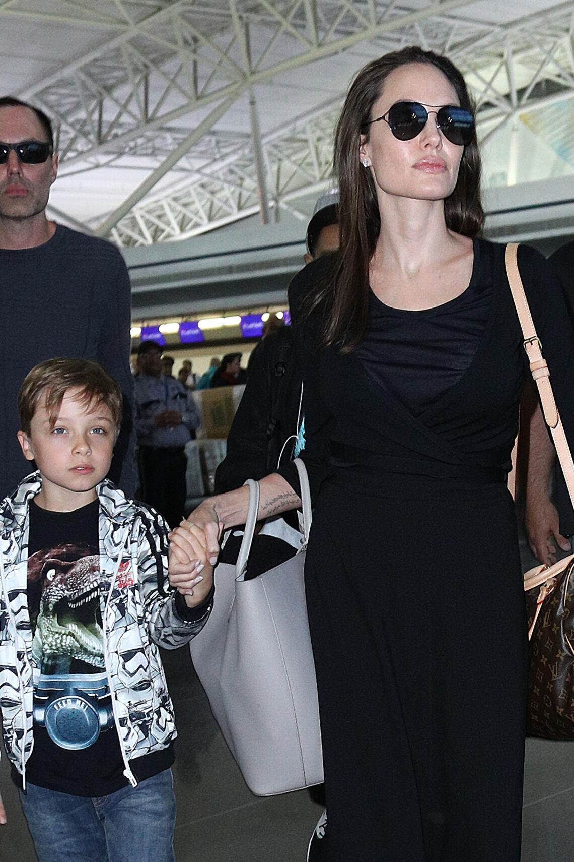 Angelina Jolie mit Bruder James Haven