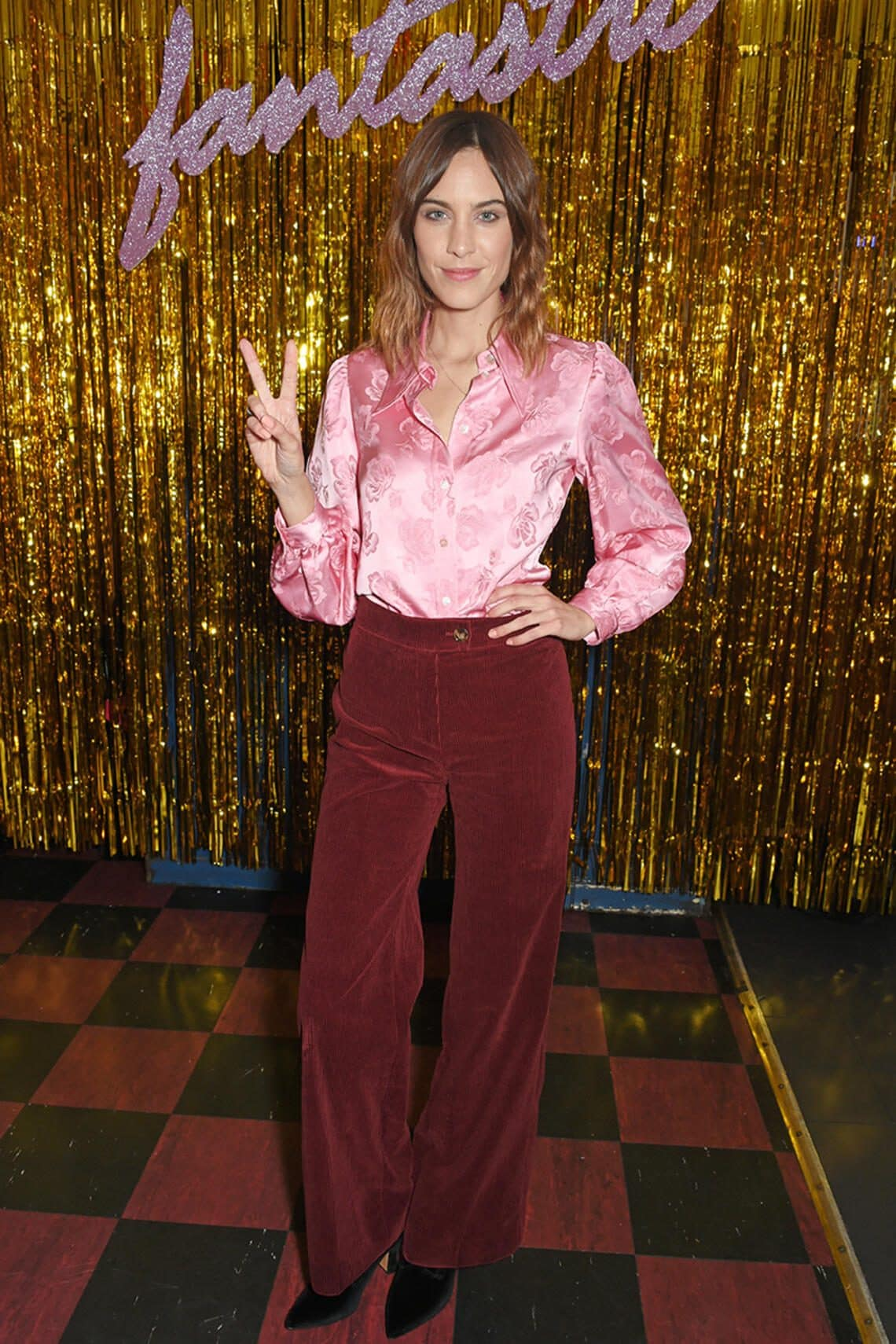 Alexa Chung Style of the Day