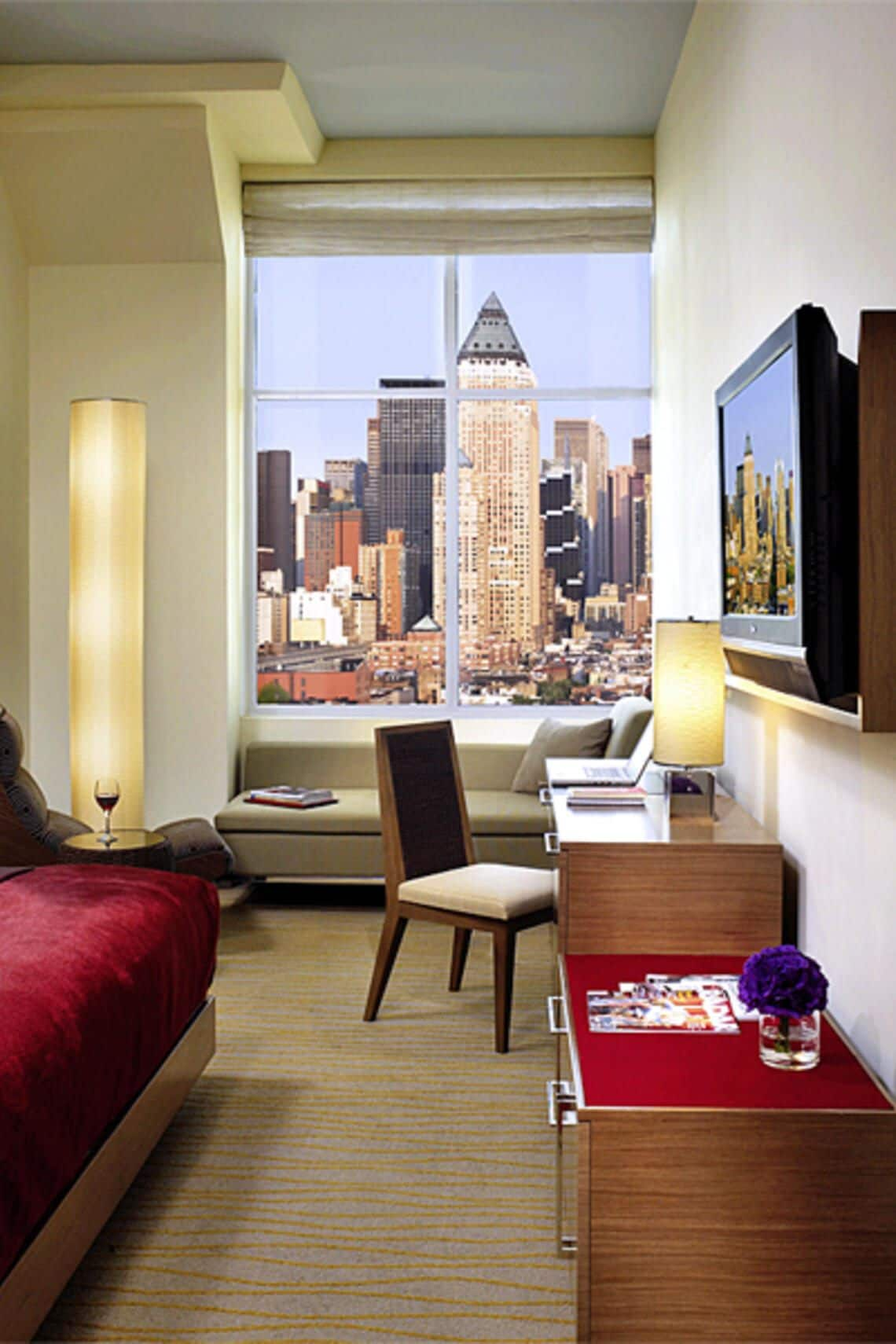 Neues Trend- Hotel in New York