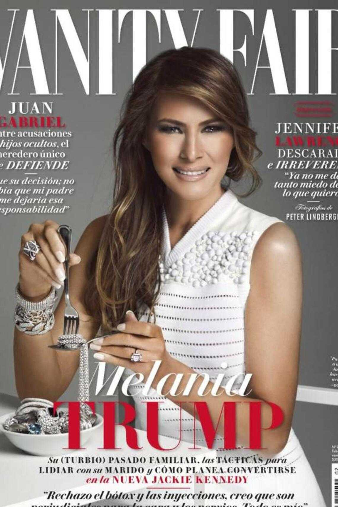 melania trump vanity fair cover mexiko
