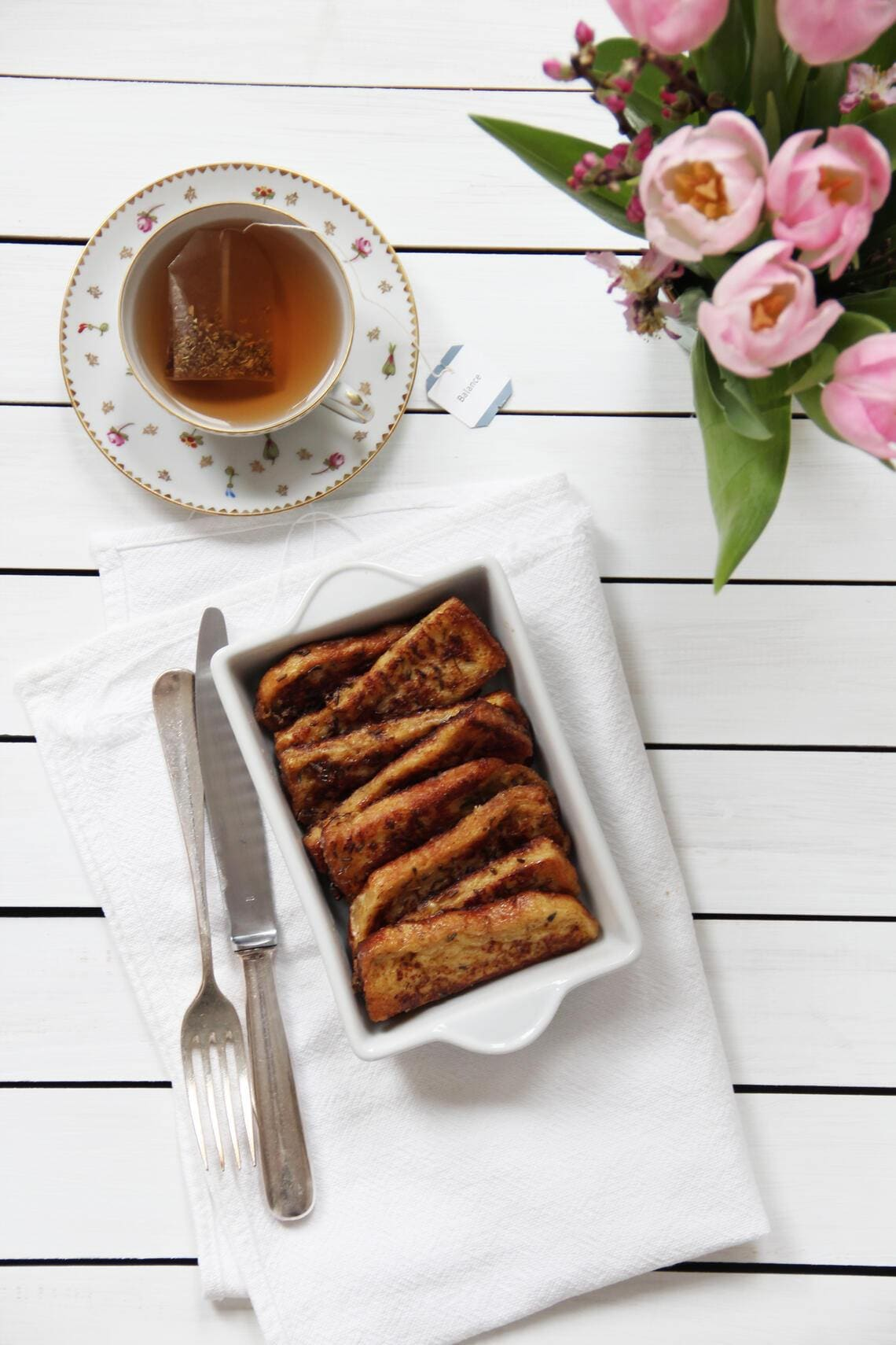 fork and flower X SI Style Rezept: French Toasts