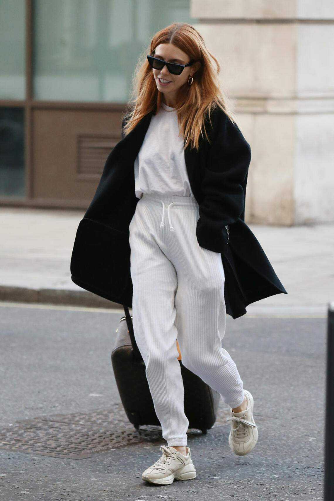 Stacey Dooley Christmas Outfit