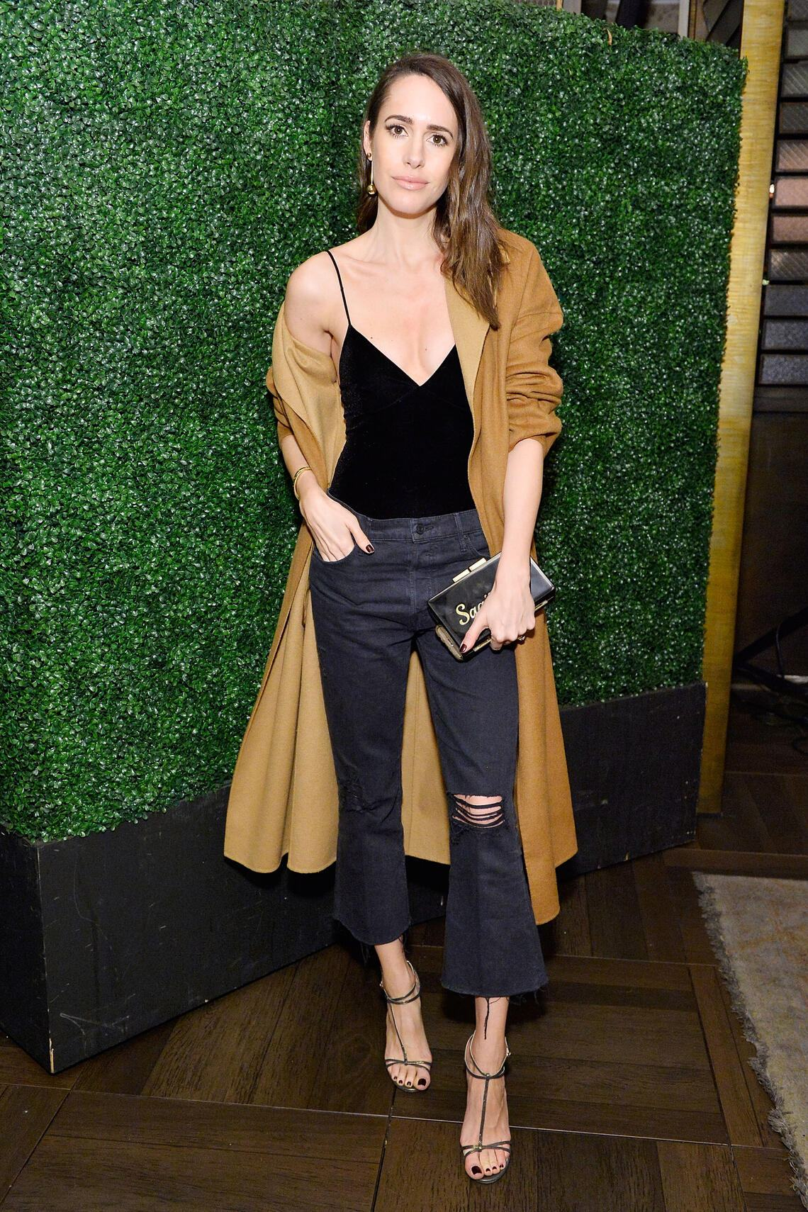 Look of the Day Louise Roe, Moderatorin