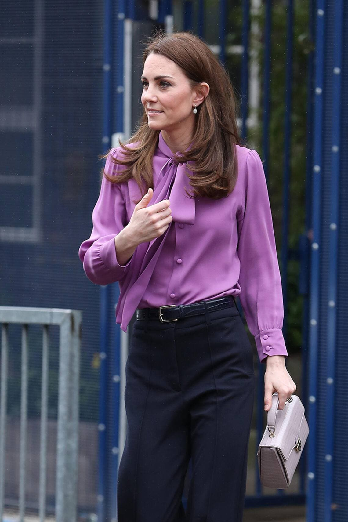 Kate Middleton in Gucci-Bluse