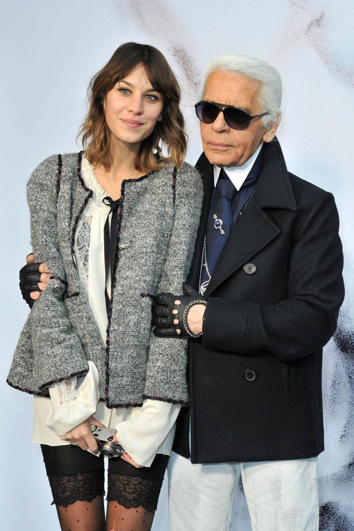 Karl Lagerfeld To Social Media alexa Chung
