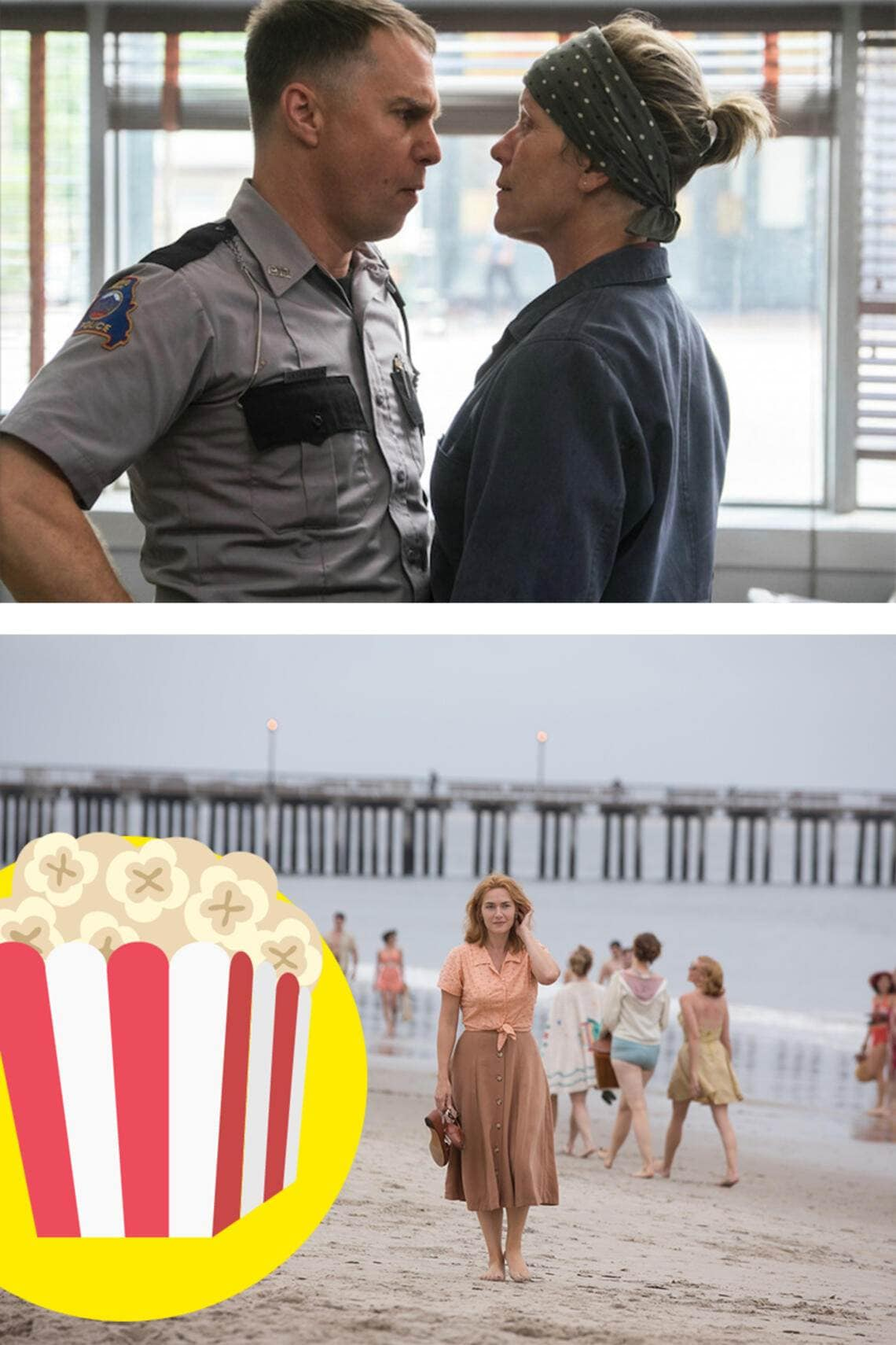 «Three Billboards Outside Ebbing, Missouri» und «Wonder Wheel»