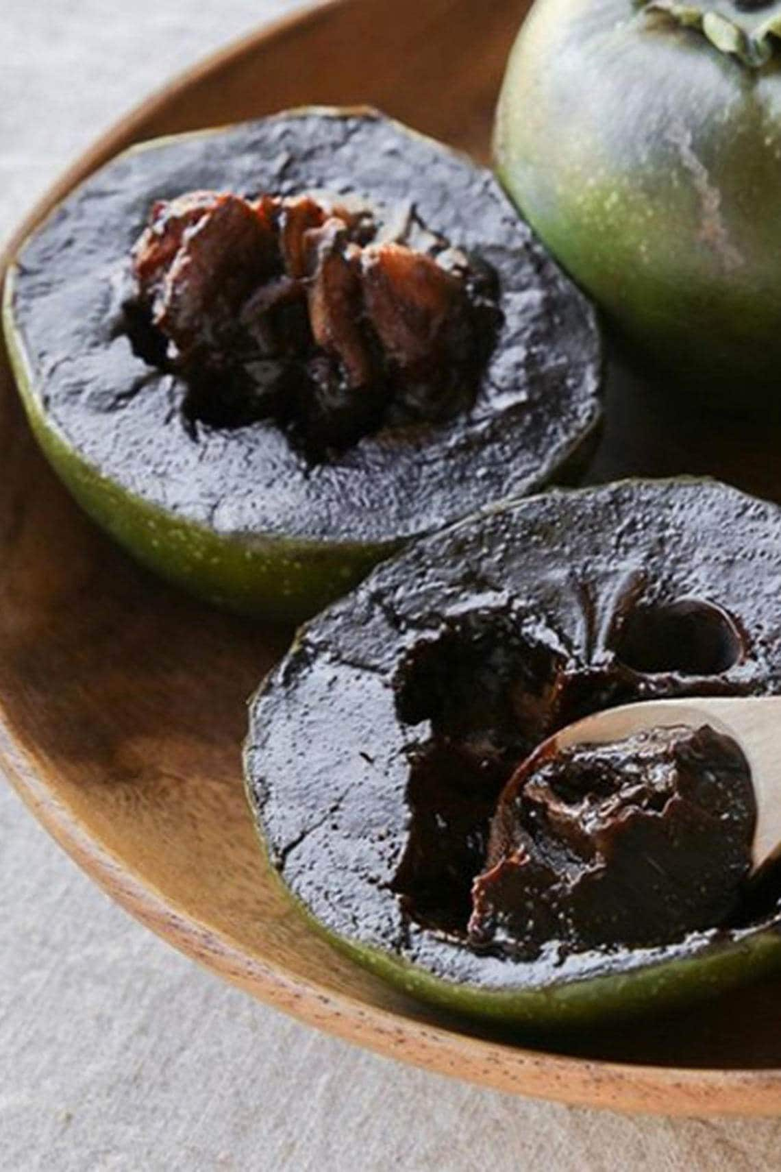 Schwarze Sapote Nutella Alternative