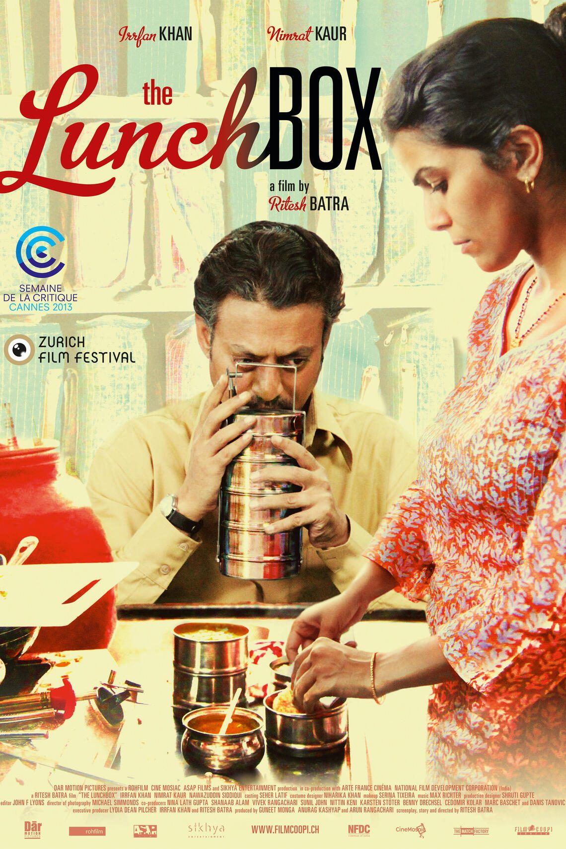 Plakat von «The Lunchbox»